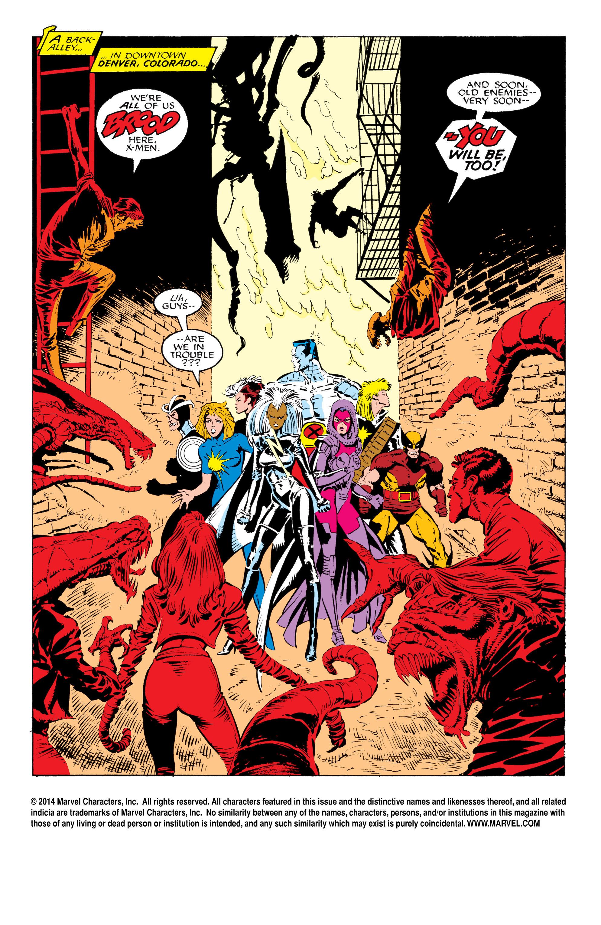 Read online Uncanny X-Men (1963) comic -  Issue #233 - 2
