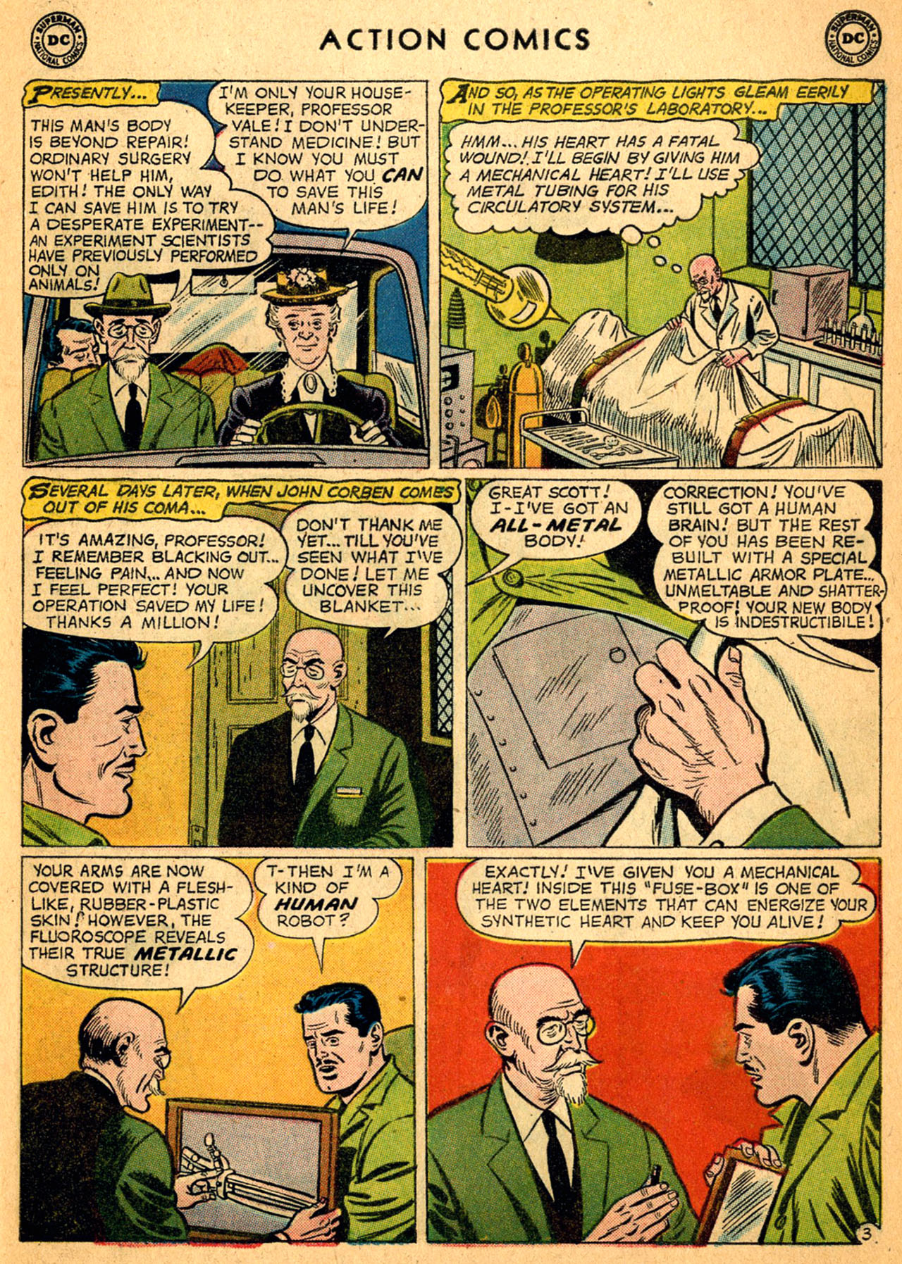 Read online Action Comics (1938) comic -  Issue #252 - 5