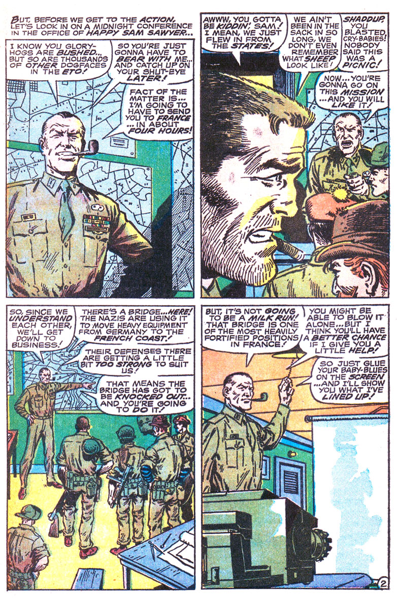 Read online Sgt. Fury comic -  Issue #164 - 4