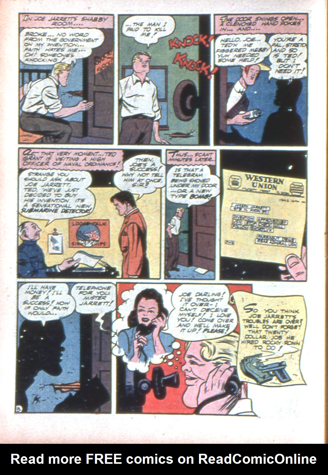 Read online Sensation (Mystery) Comics comic -  Issue #15 - 58