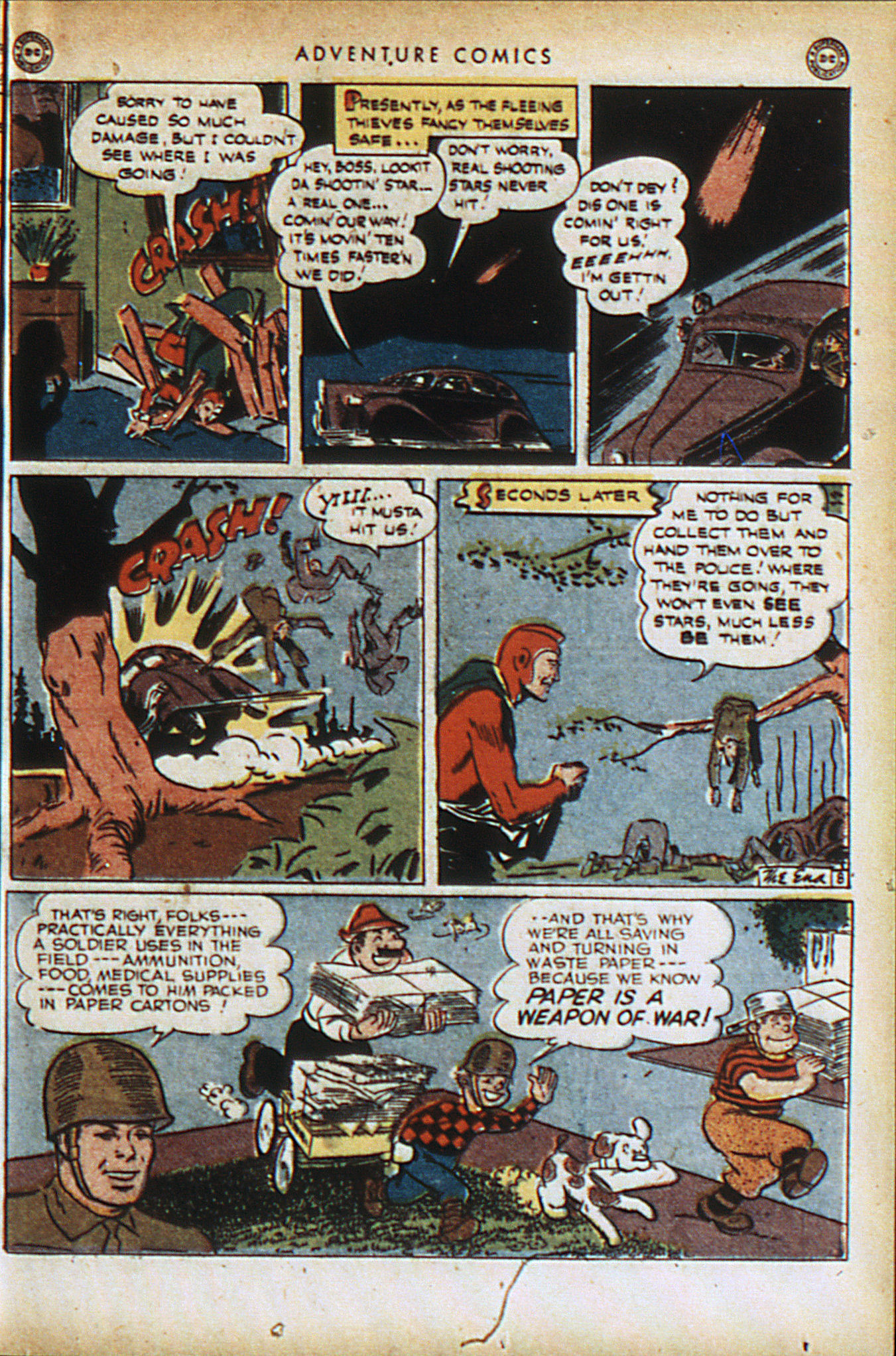 Read online Adventure Comics (1938) comic -  Issue #94 - 32