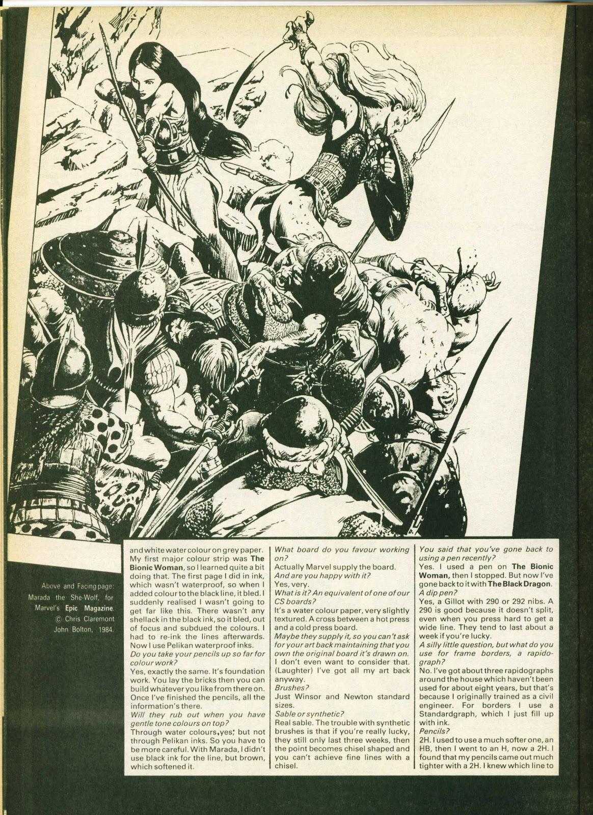 Warrior Issue #24 #25 - English 30