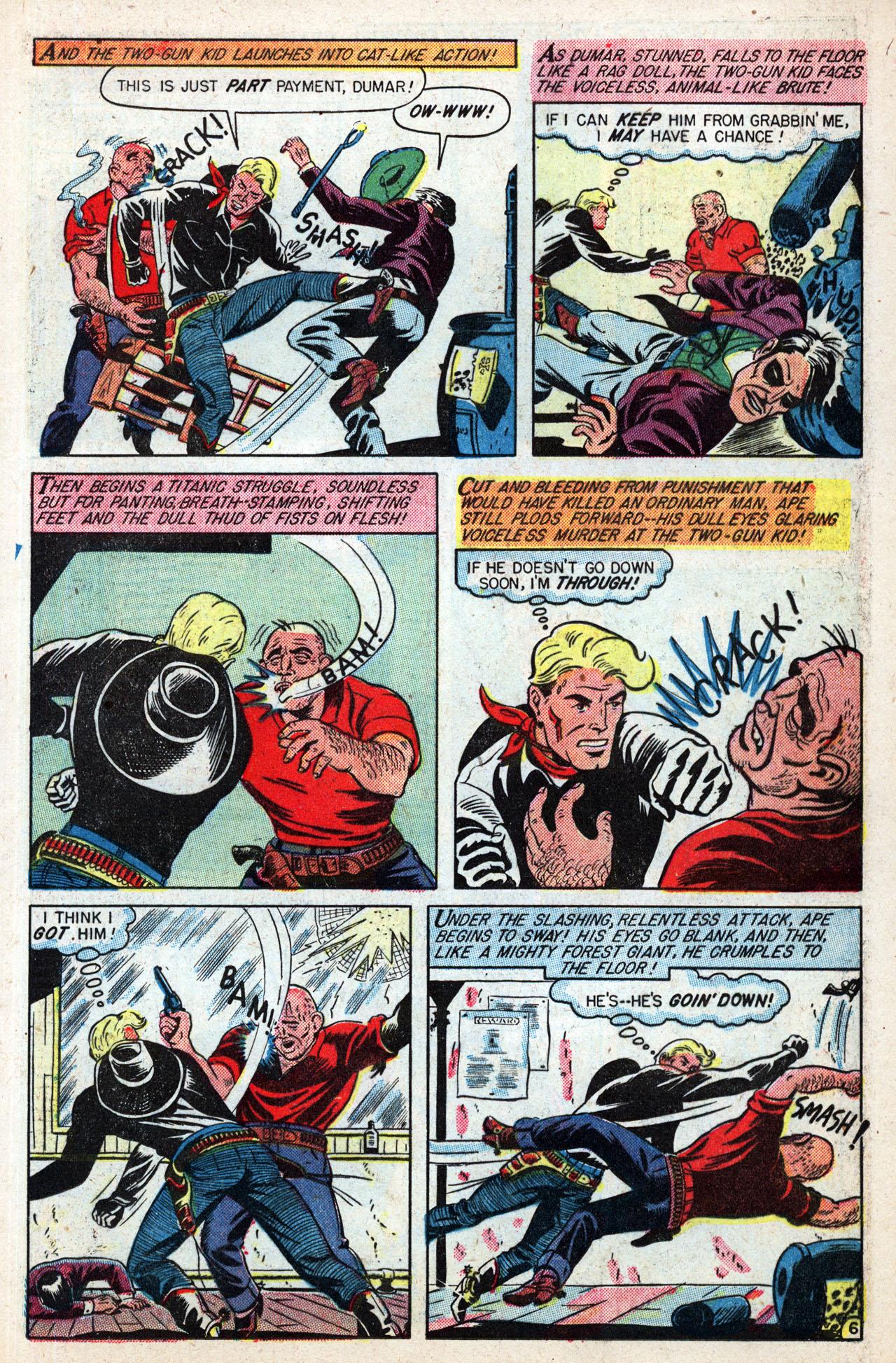 Read online Two-Gun Kid comic -  Issue #4 - 19
