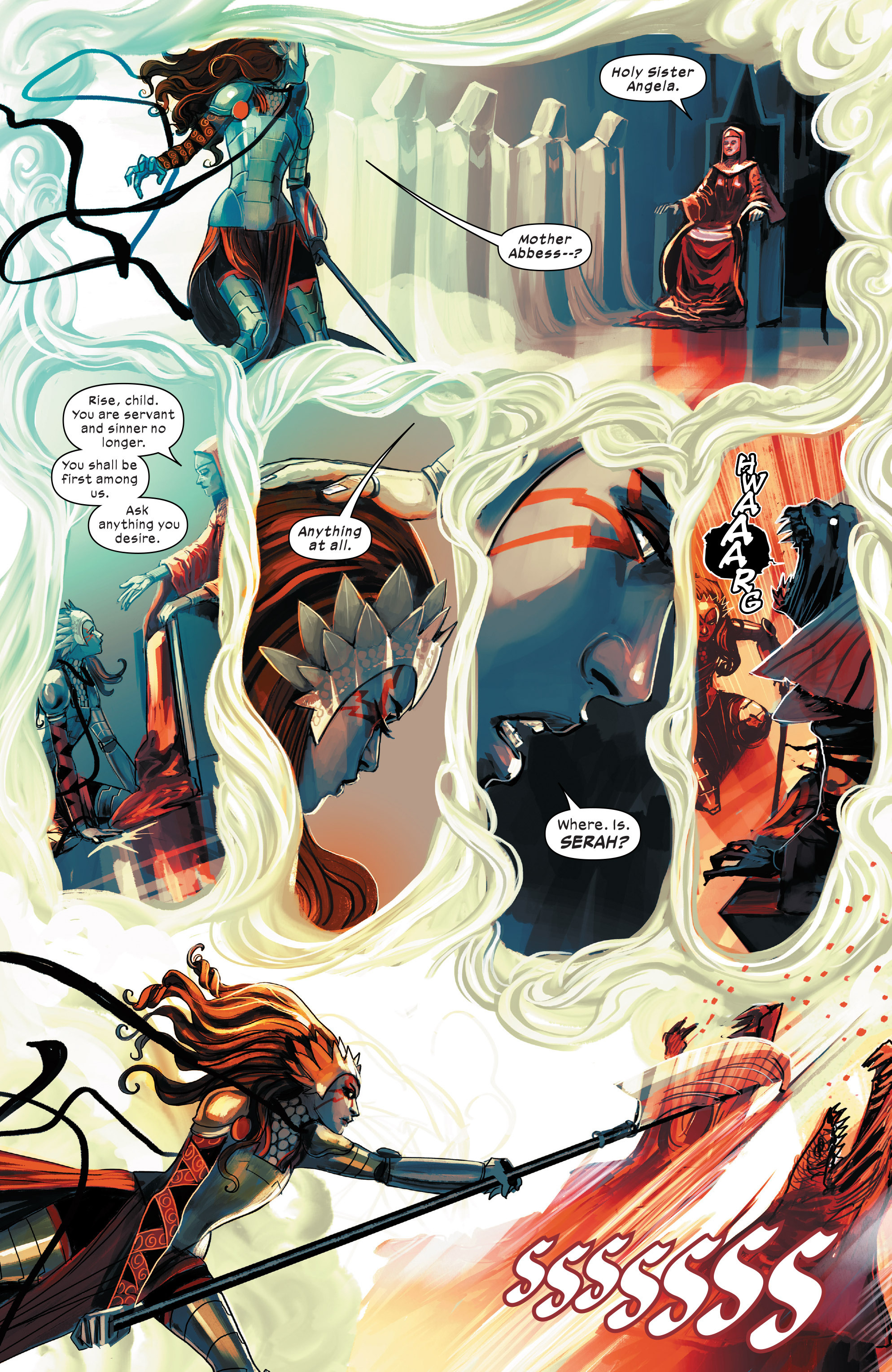 Read online 1602 Witch Hunter Angela comic -  Issue #4 - 6