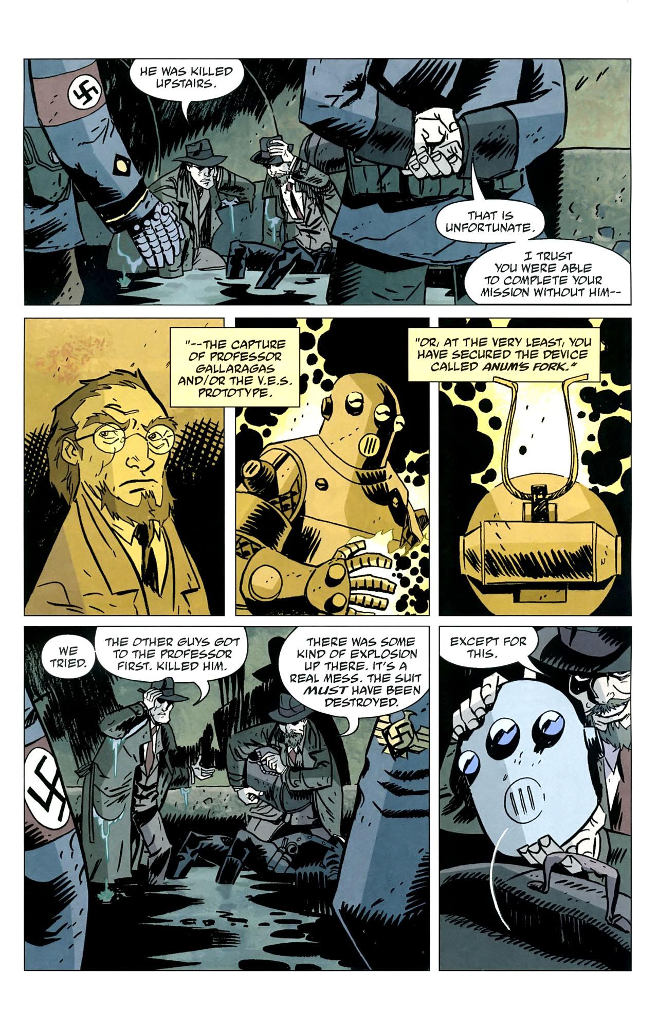 Read online Lobster Johnson: The Iron Prometheus comic -  Issue #5 - 9