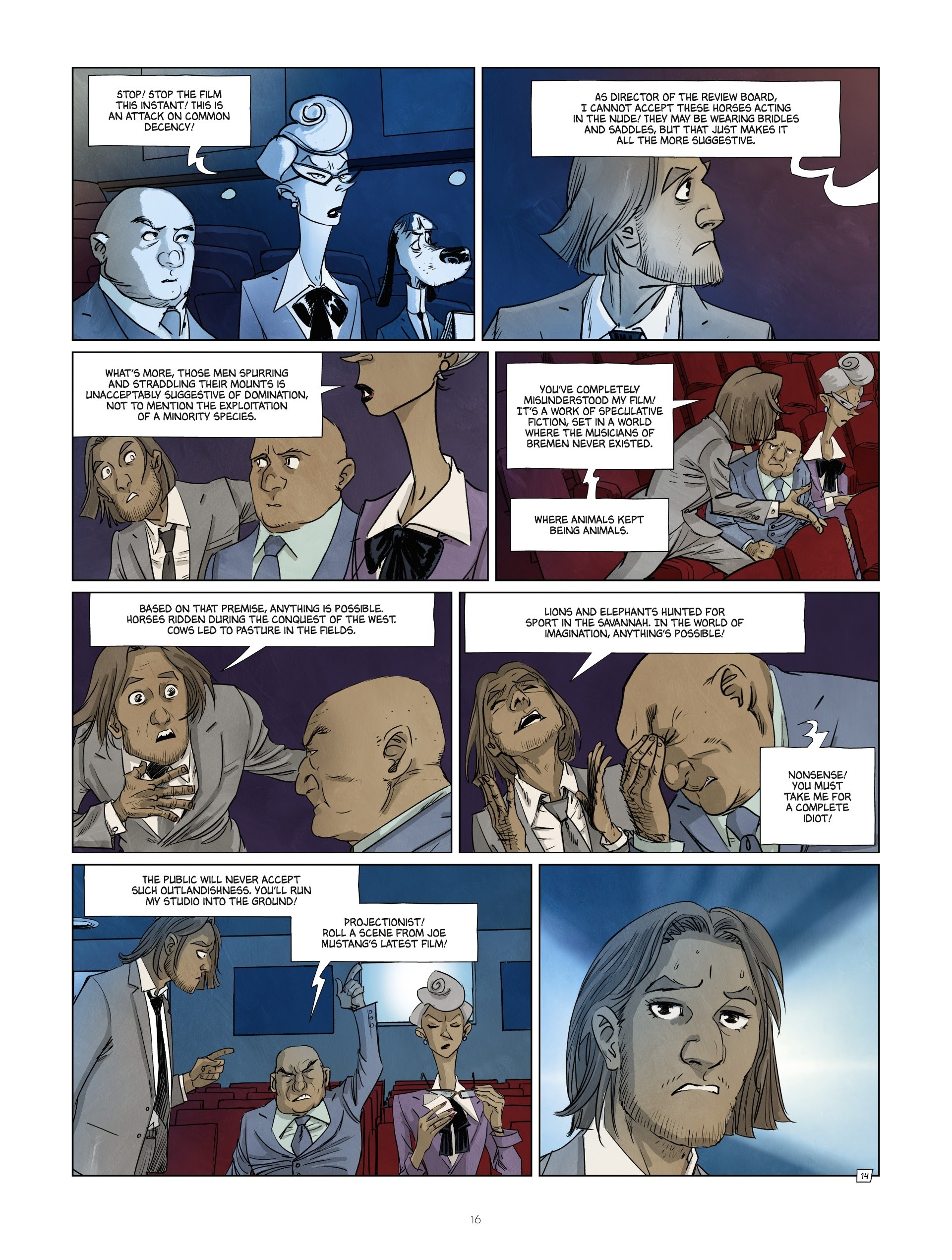 Read online Jack Wolfgang comic -  Issue #3 - 18