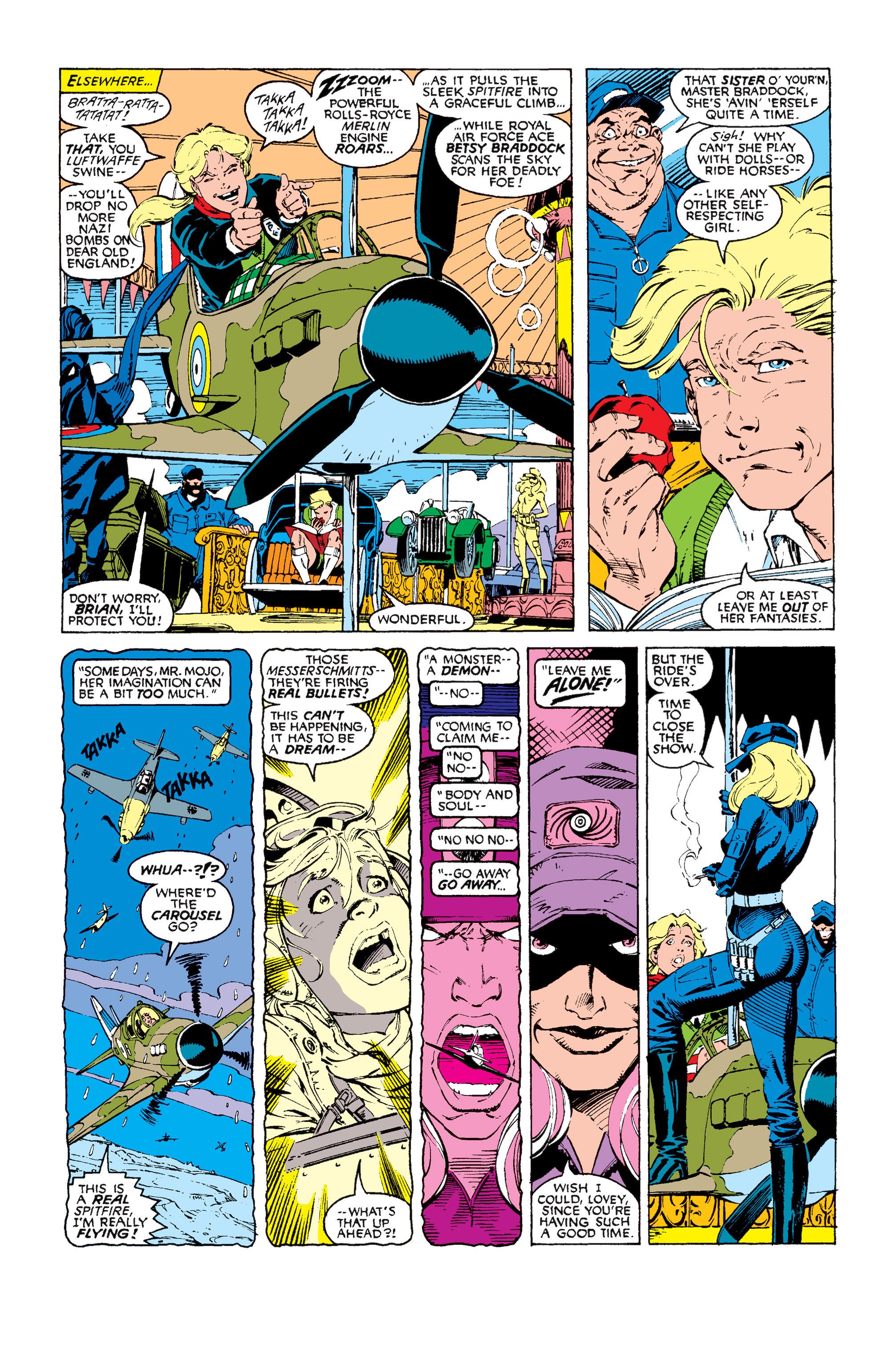Read online Uncanny X-Men (1963) comic -  Issue #256 - 6