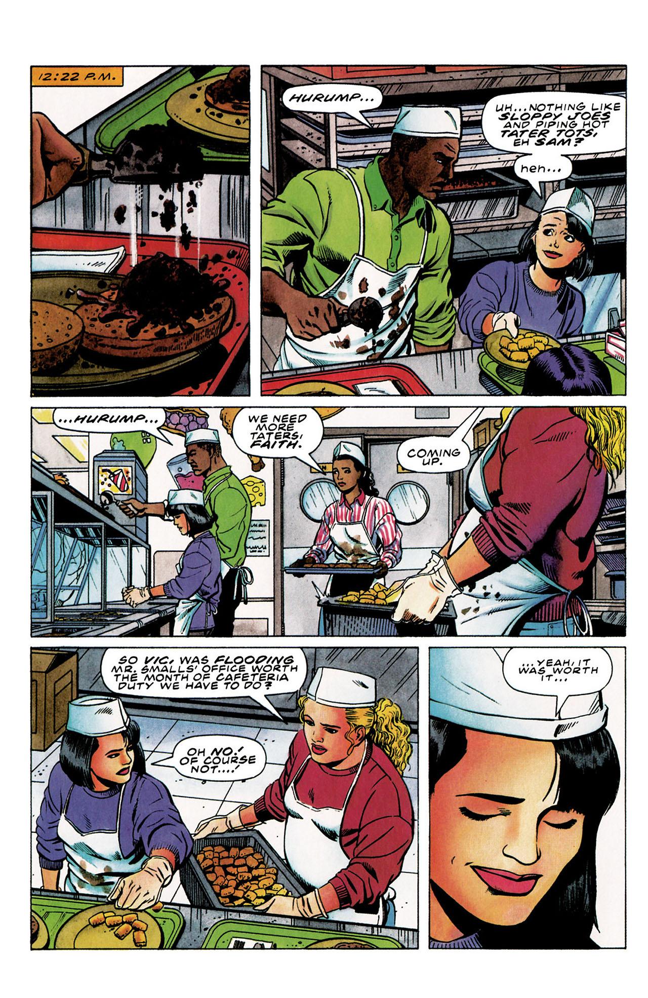Read online Harbinger (1992) comic -  Issue #30 - 5