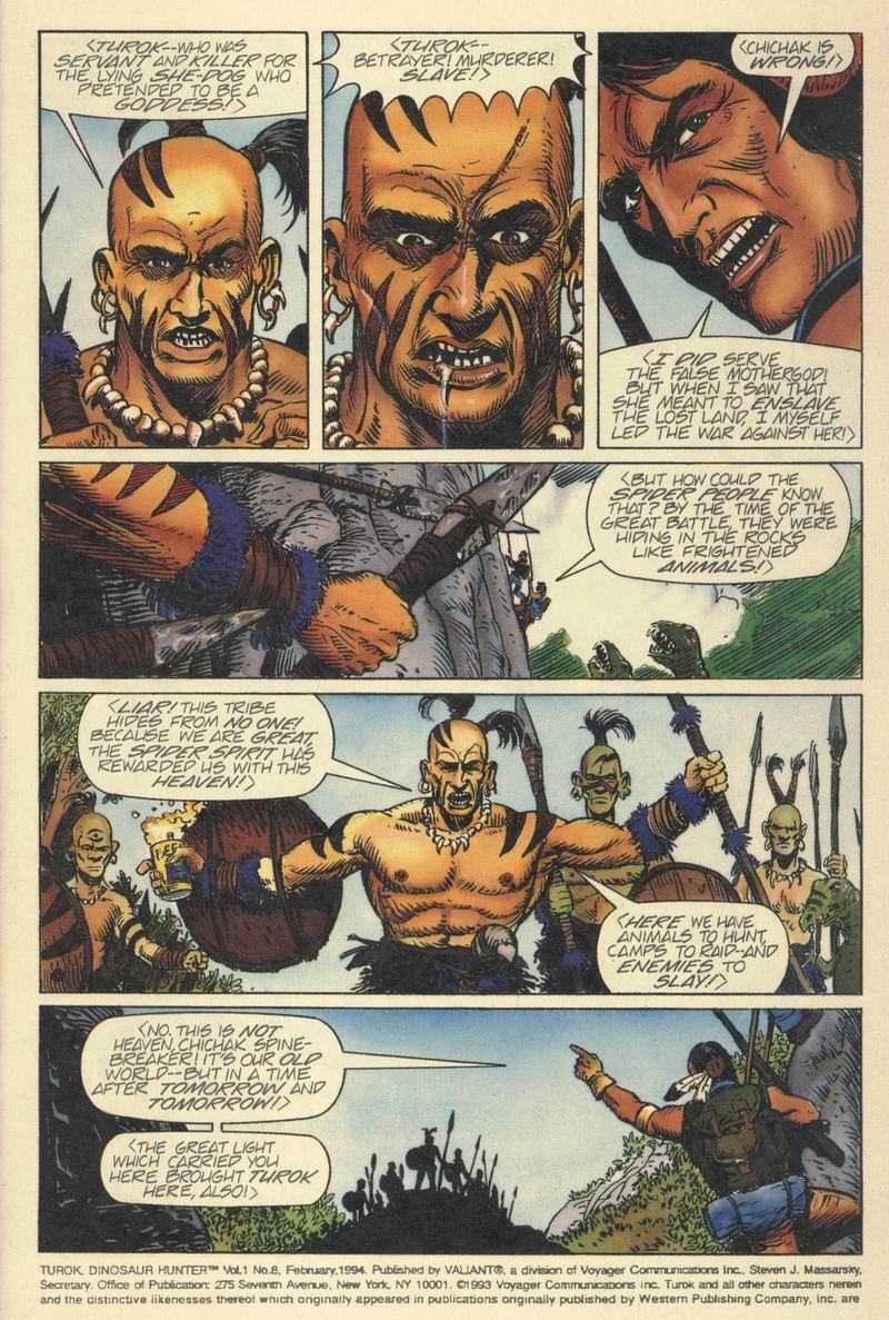 Read online Turok, Dinosaur Hunter (1993) comic -  Issue #8 - 4