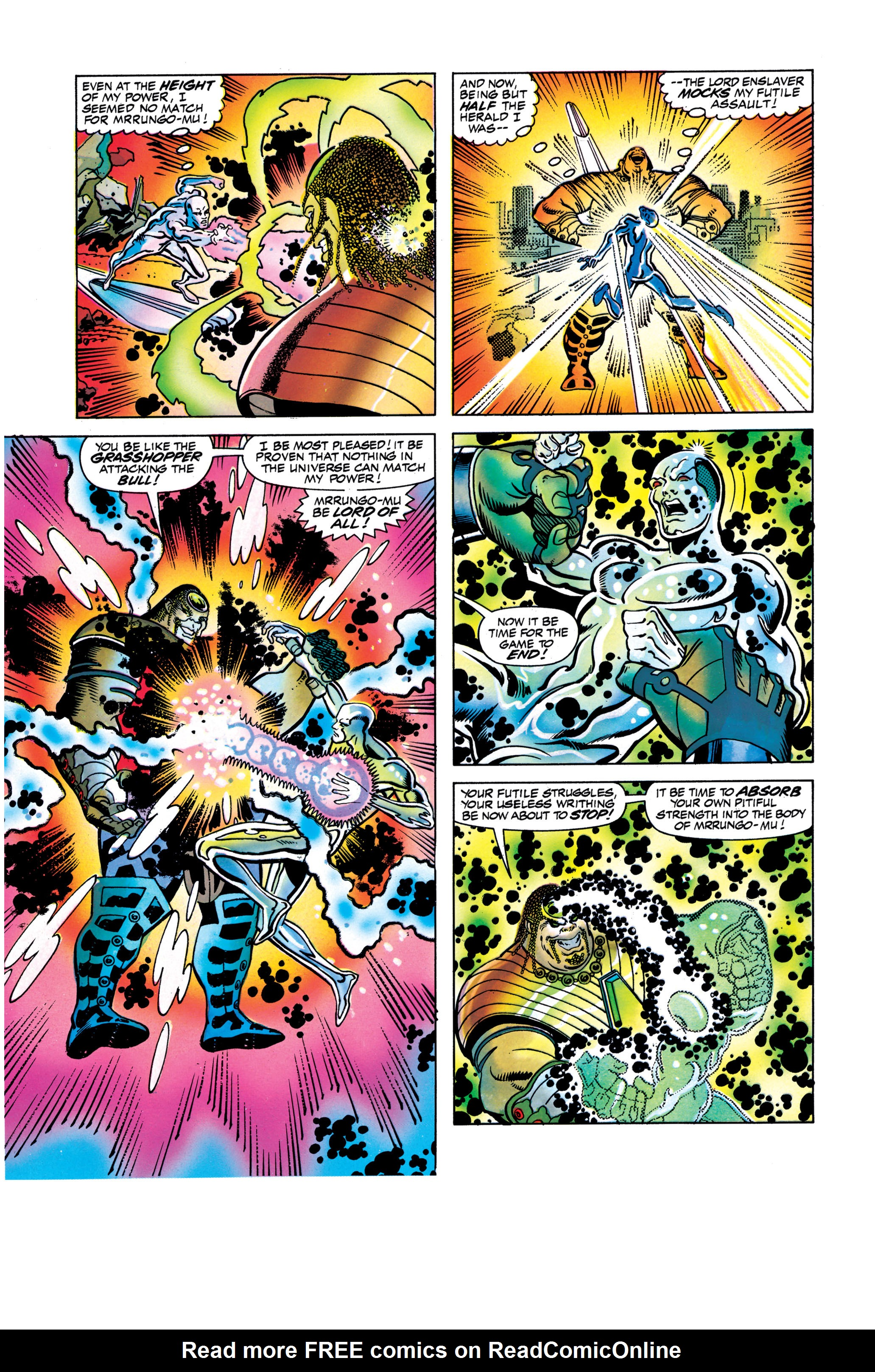 Read online Silver Surfer: Parable comic -  Issue # TPB - 117