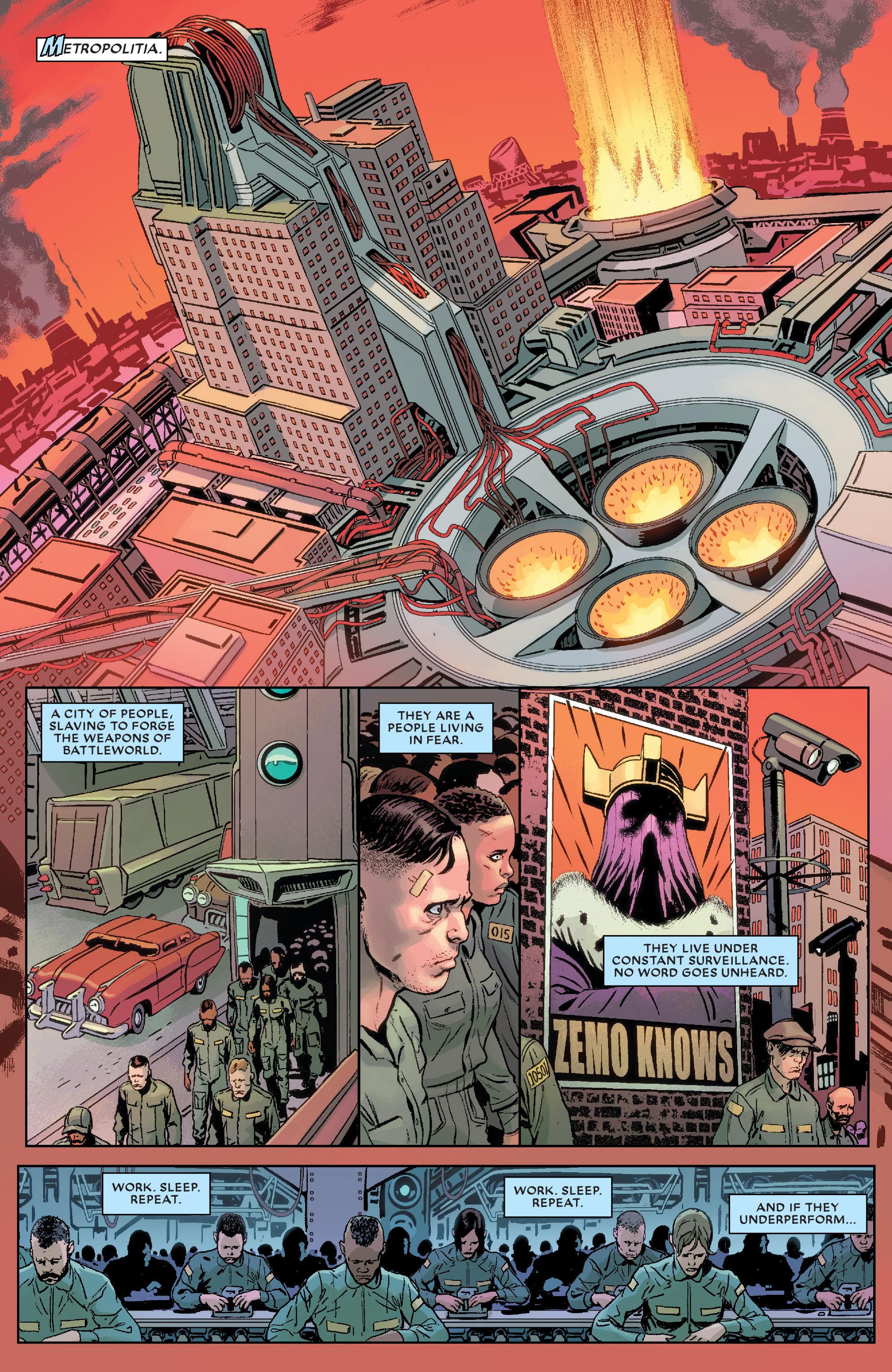 Read online Secret Wars Journal/Battleworld comic -  Issue # TPB - 90