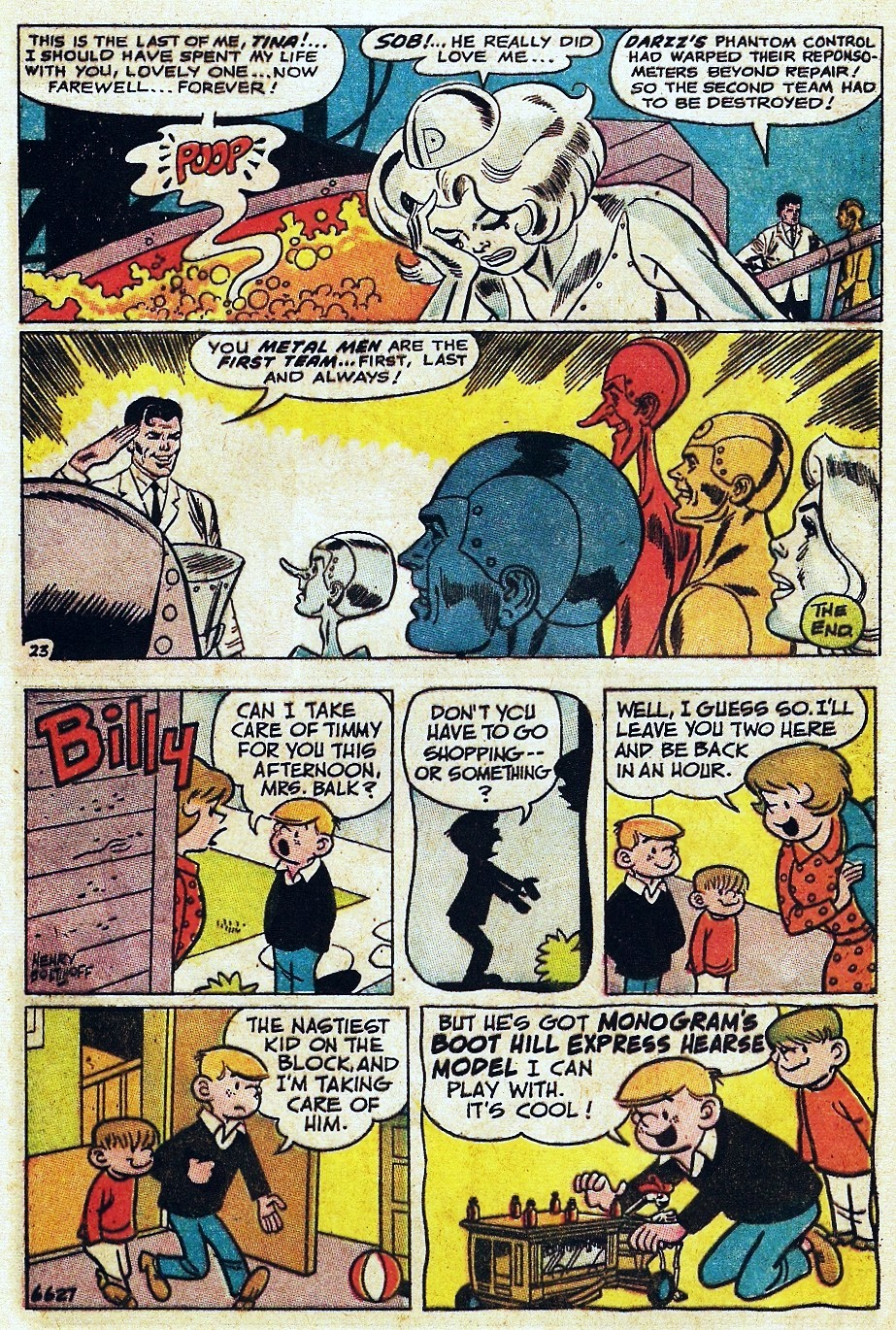 Metal Men (1963) issue 31 - Page 32