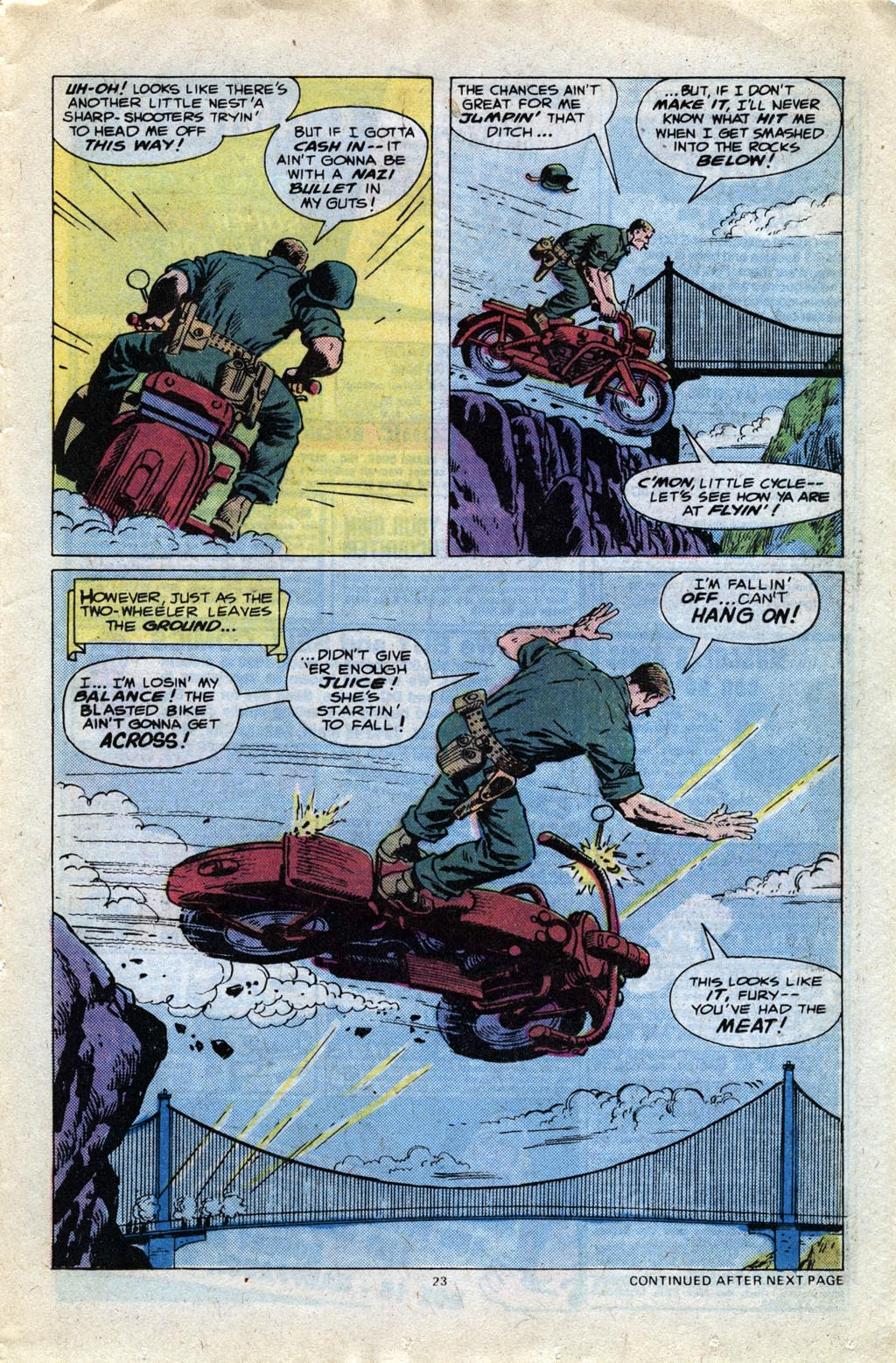 Read online Sgt. Fury comic -  Issue #148 - 25