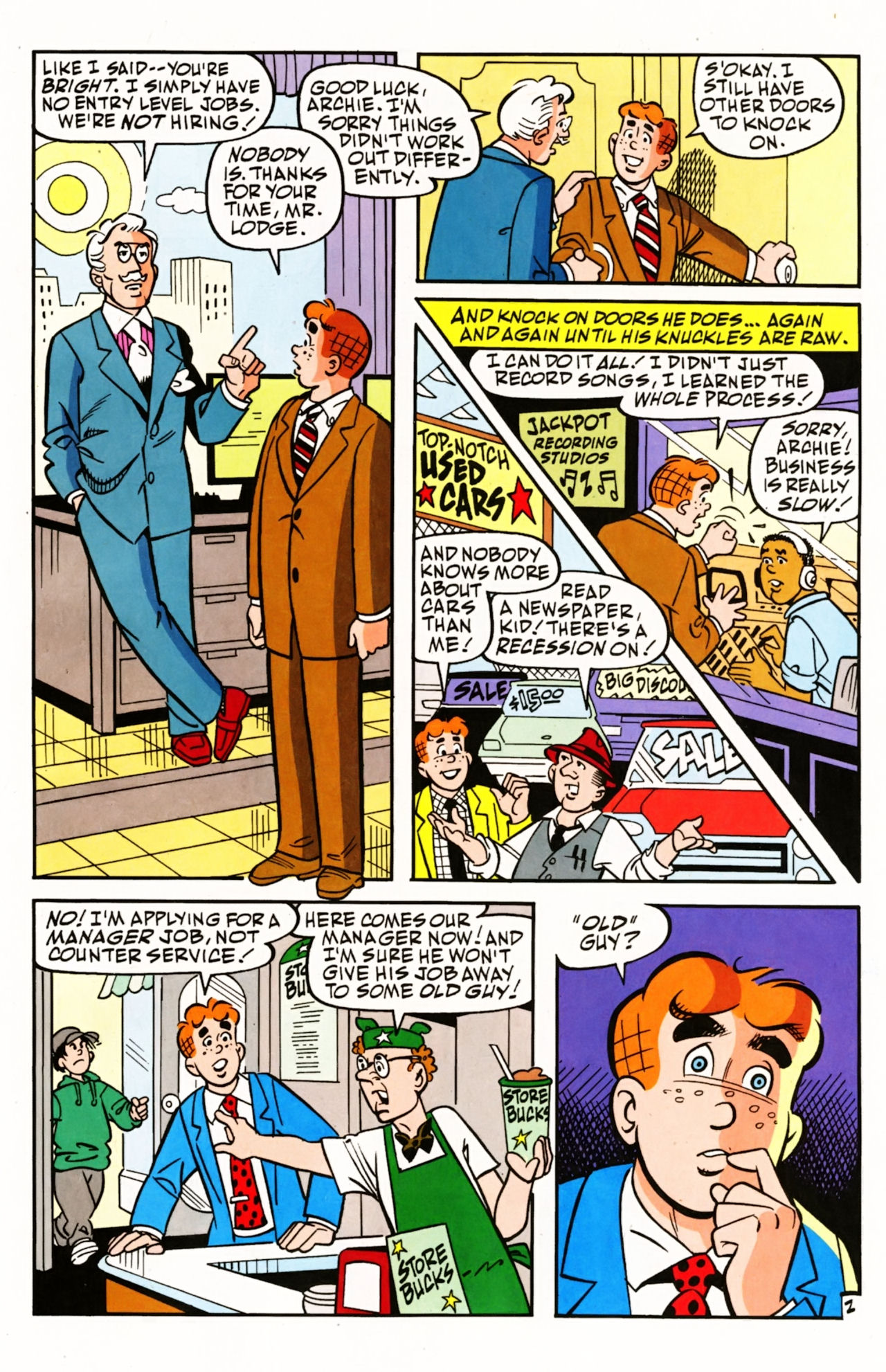 Read online Archie (1960) comic -  Issue #604 - 5