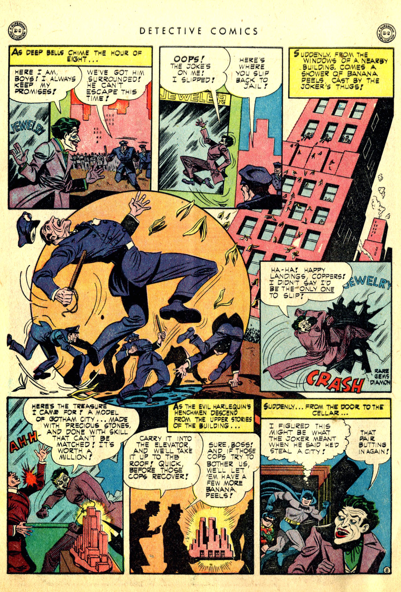 Read online Detective Comics (1937) comic -  Issue #91 - 10