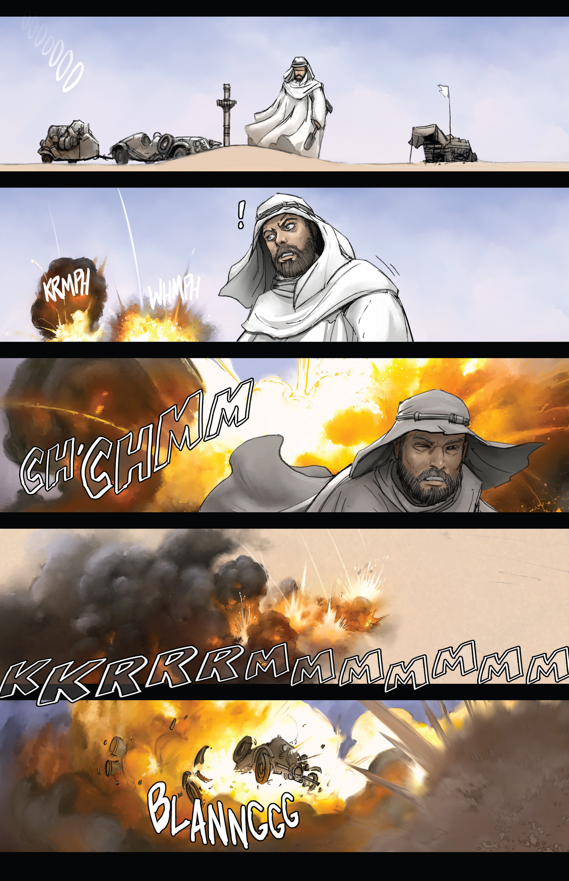 Read online Steam Wars: First Empire comic -  Issue #3 - 12
