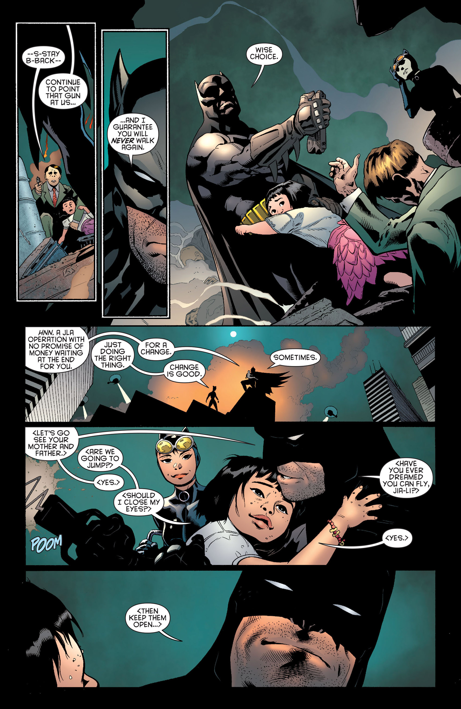 Read online Batman and Robin (2011) comic -  Issue #22 - Batman and Catwoman - 16