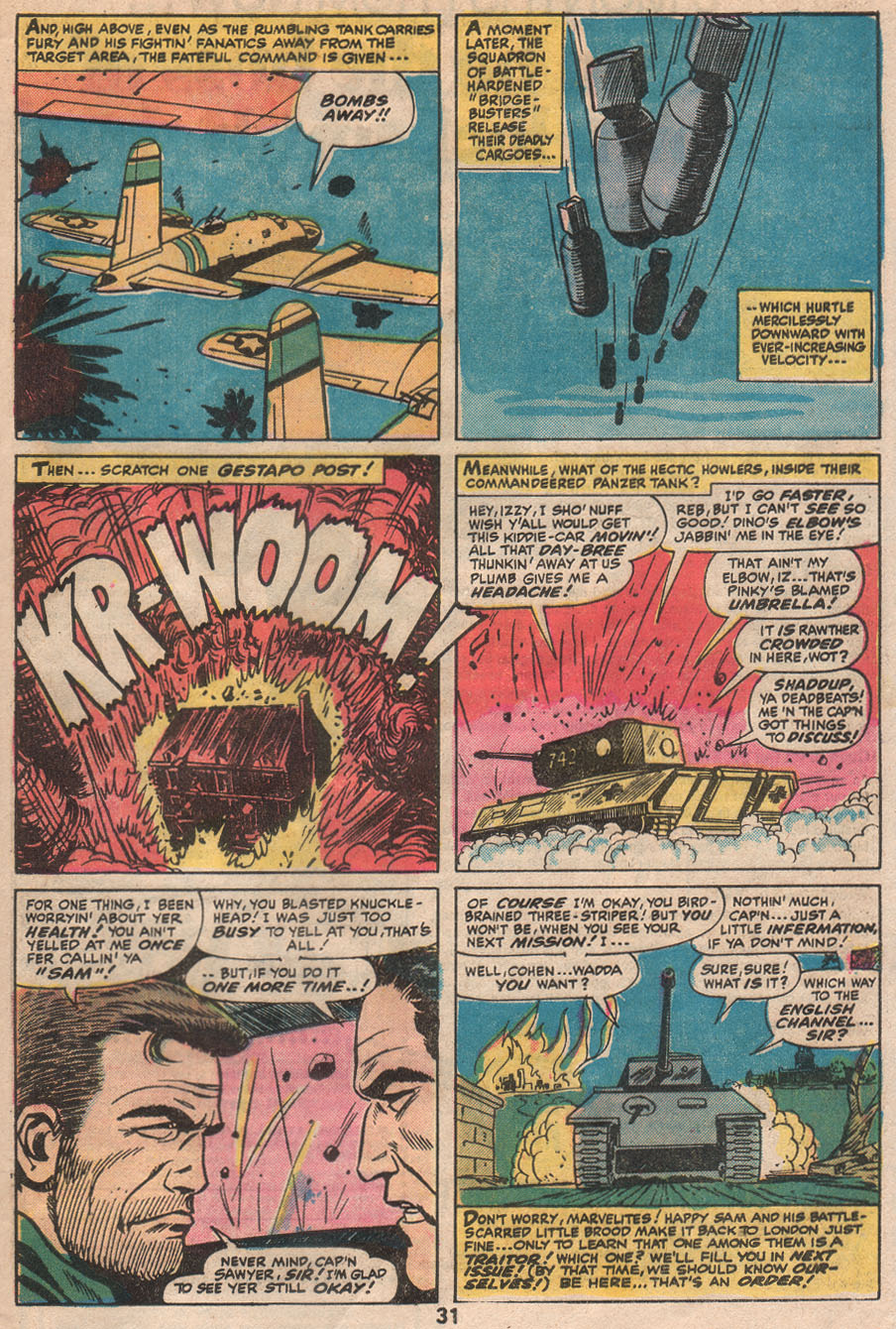 Read online Sgt. Fury comic -  Issue #133 - 33