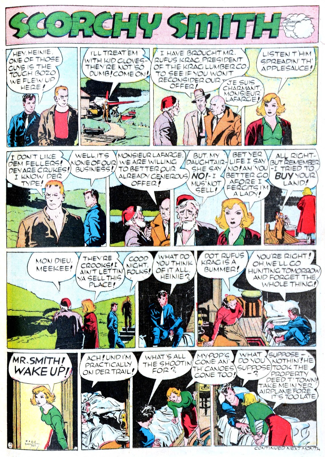 Read online Famous Funnies comic -  Issue #60 - 46
