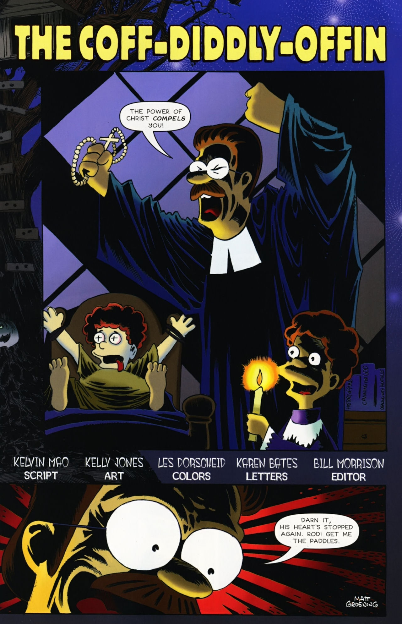 Read online Treehouse of Horror comic -  Issue #16 - 20