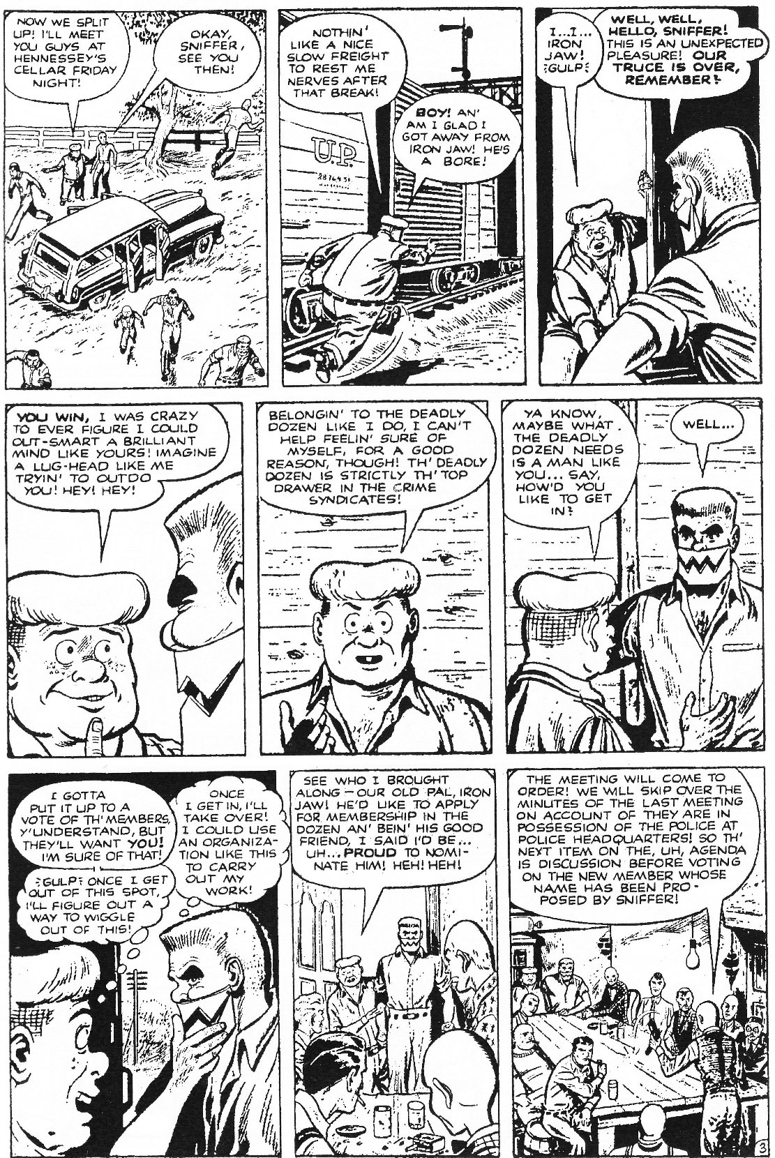 Read online Men of Mystery Comics comic -  Issue #70 - 37