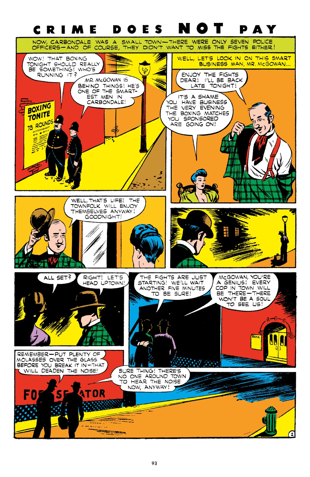 Read online Crime Does Not Pay Archives comic -  Issue # TPB 5 (Part 1) - 93