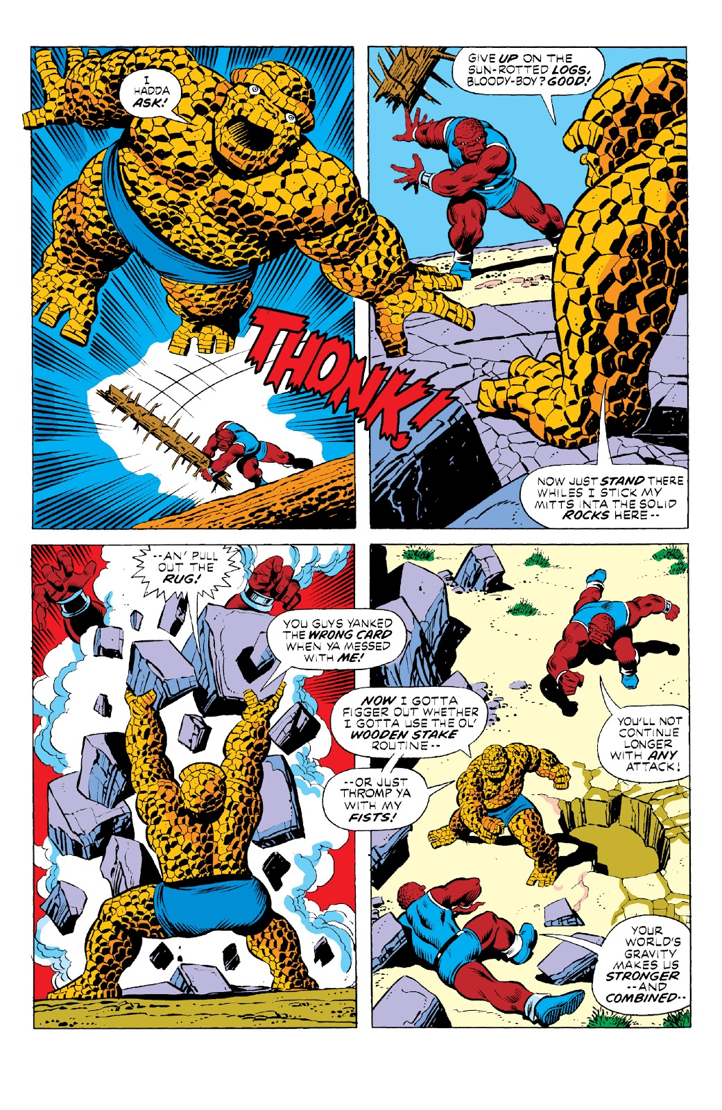 Read online Marvel Two-In-One Epic Collection: Cry Monster comic -  Issue # TPB (Part 1) - 38