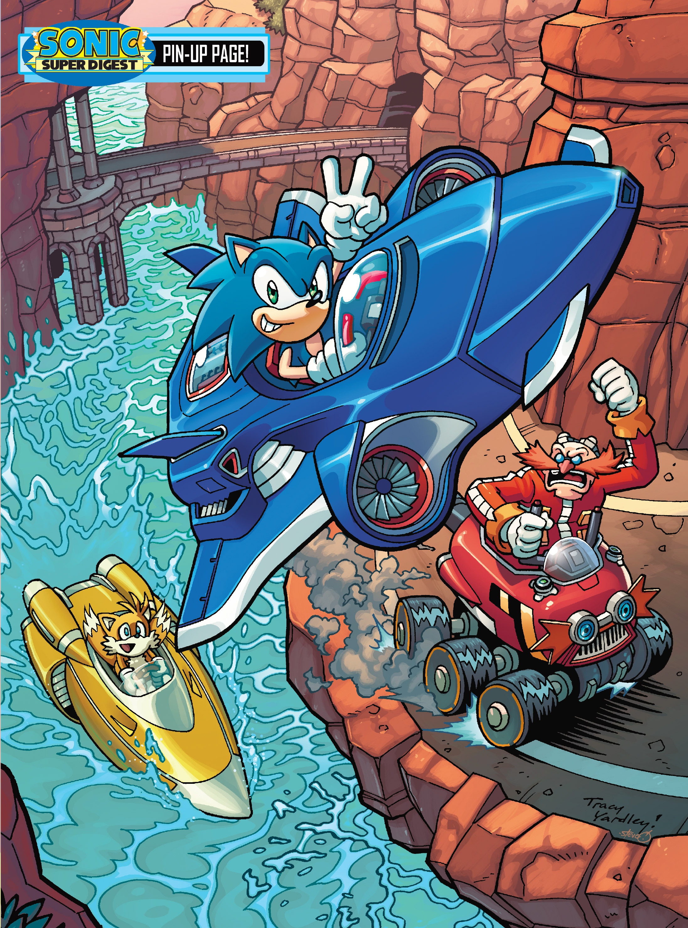 Read online Sonic Super Digest comic -  Issue #8 - 119