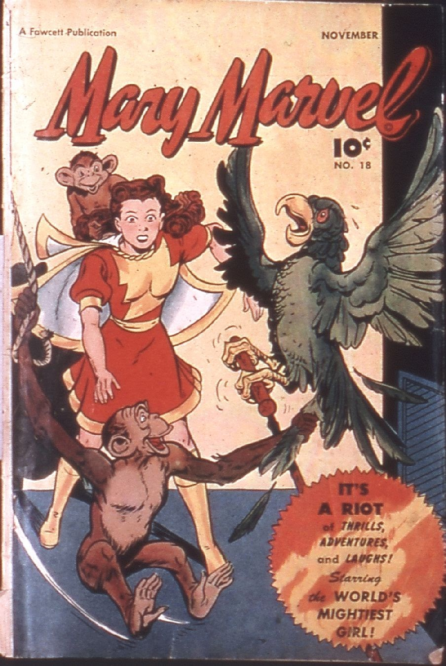 Mary Marvel 18 Page 1