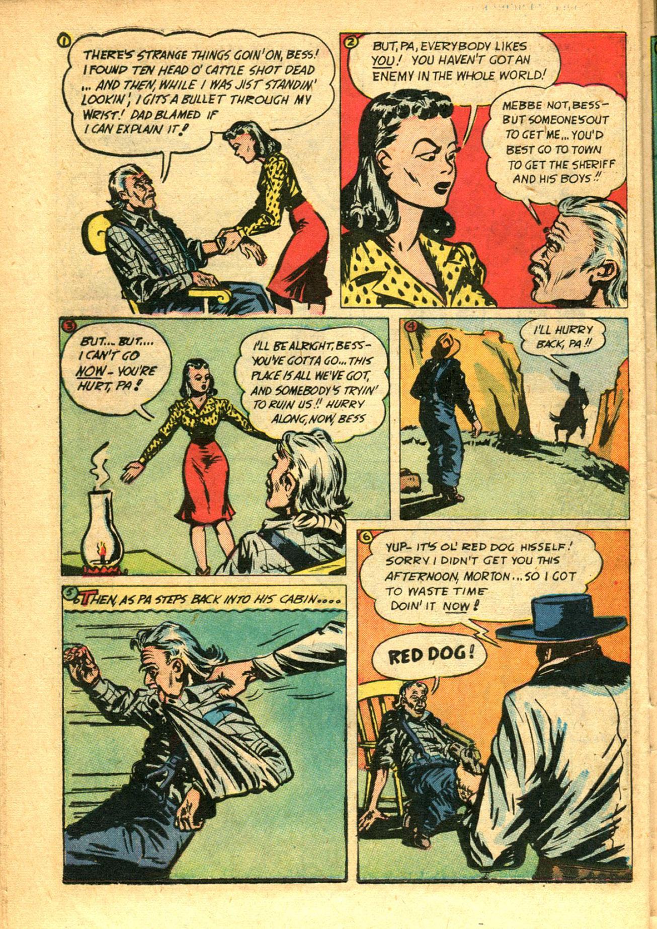 Read online Shadow Comics comic -  Issue #78 - 34