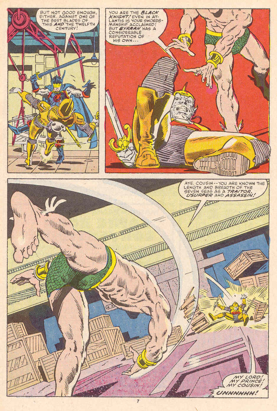 Read online Alpha Flight (1983) comic -  Issue #36 - 8