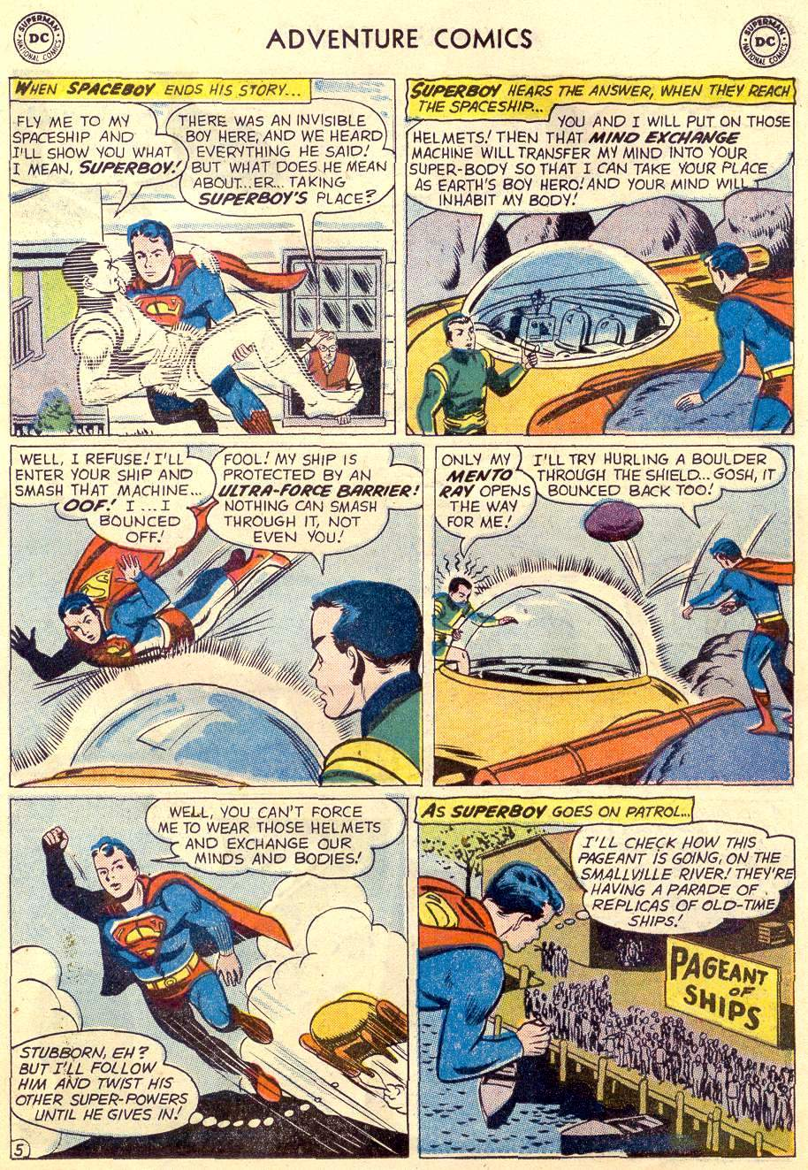 Read online Adventure Comics (1938) comic -  Issue #264 - 7