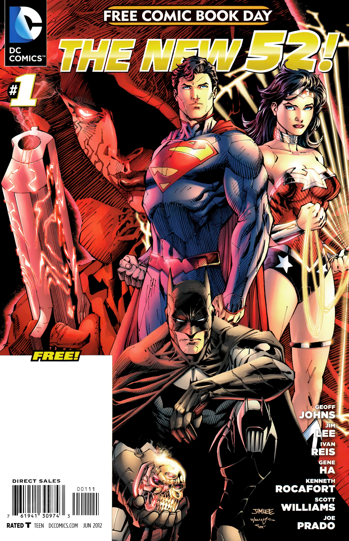 DC Comics - The New 52 FCBD Special Edition issue 01 - Page 1