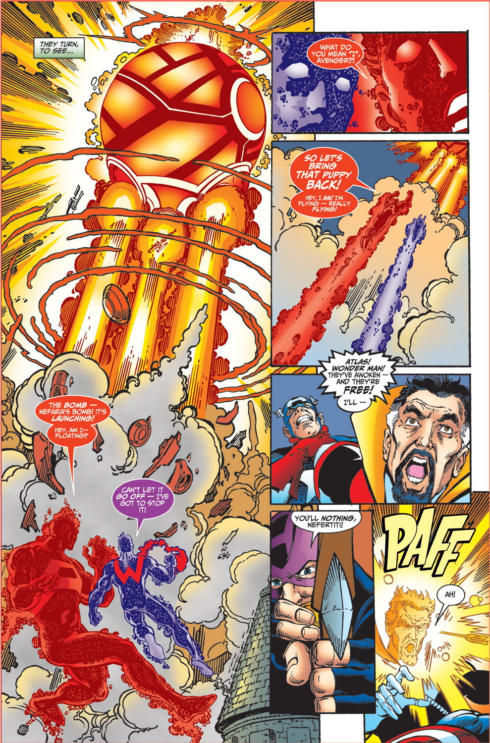 Read online Avengers (1998) comic -  Issue #34 - 15