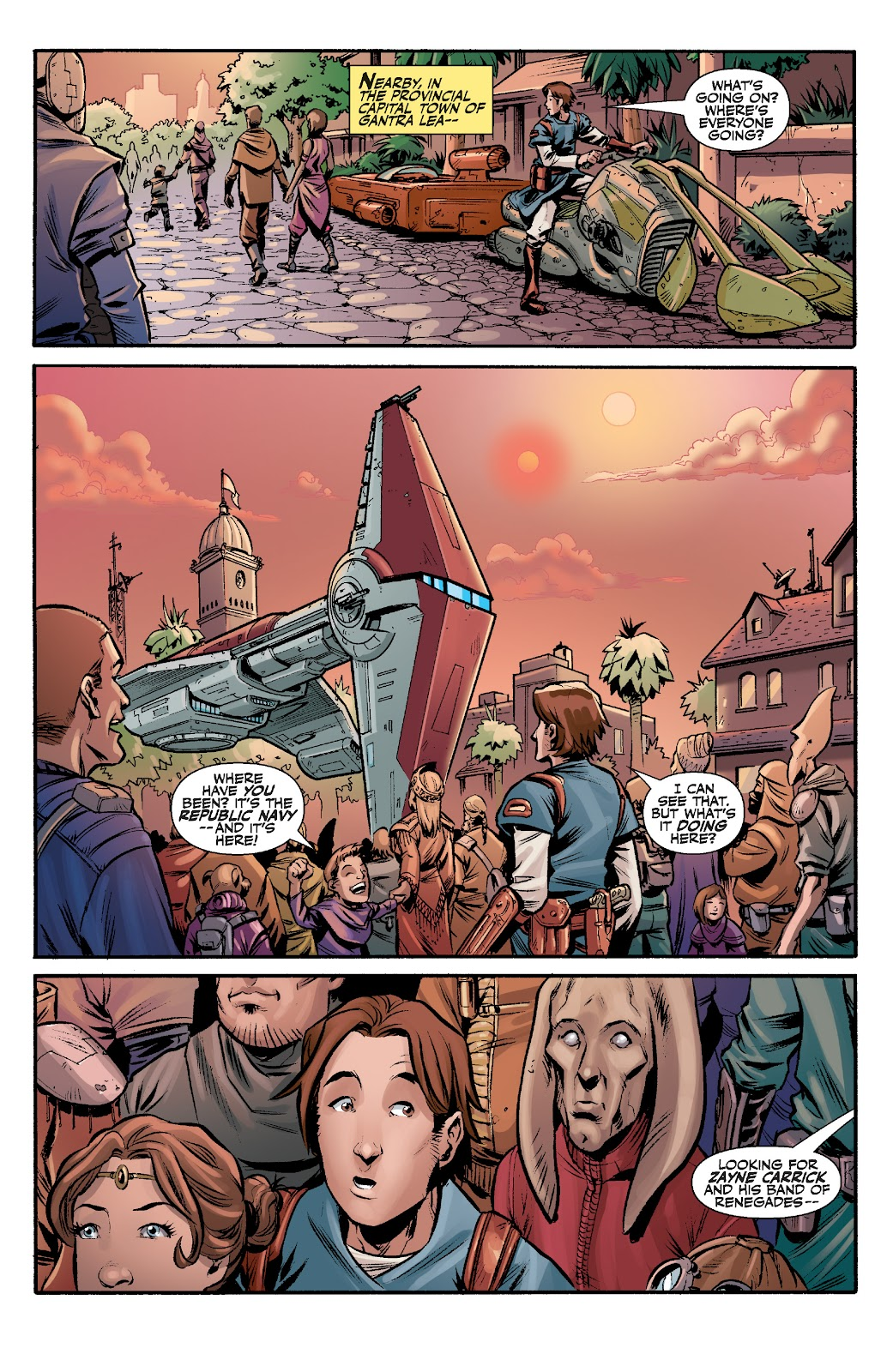 Read online Star Wars Legends: The Old Republic - Epic Collection comic -  Issue # TPB 3 (Part 2) - 5