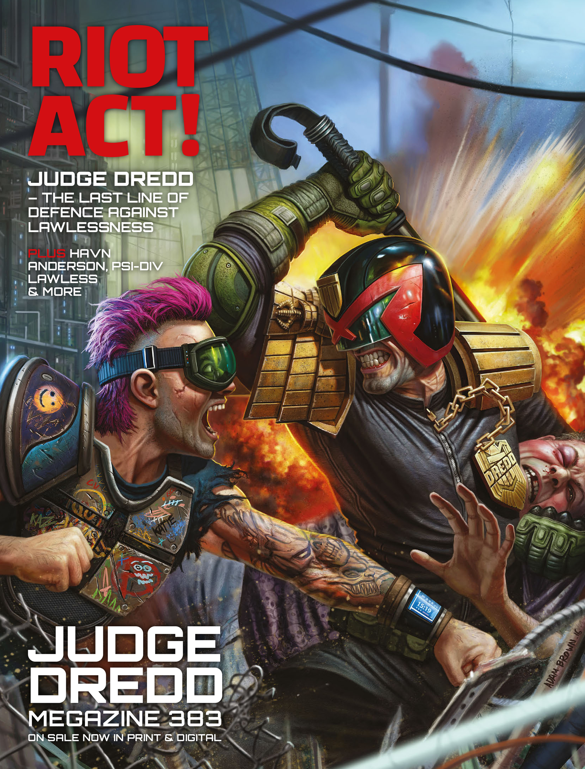 Read online 2000 AD comic -  Issue #2028 - 25