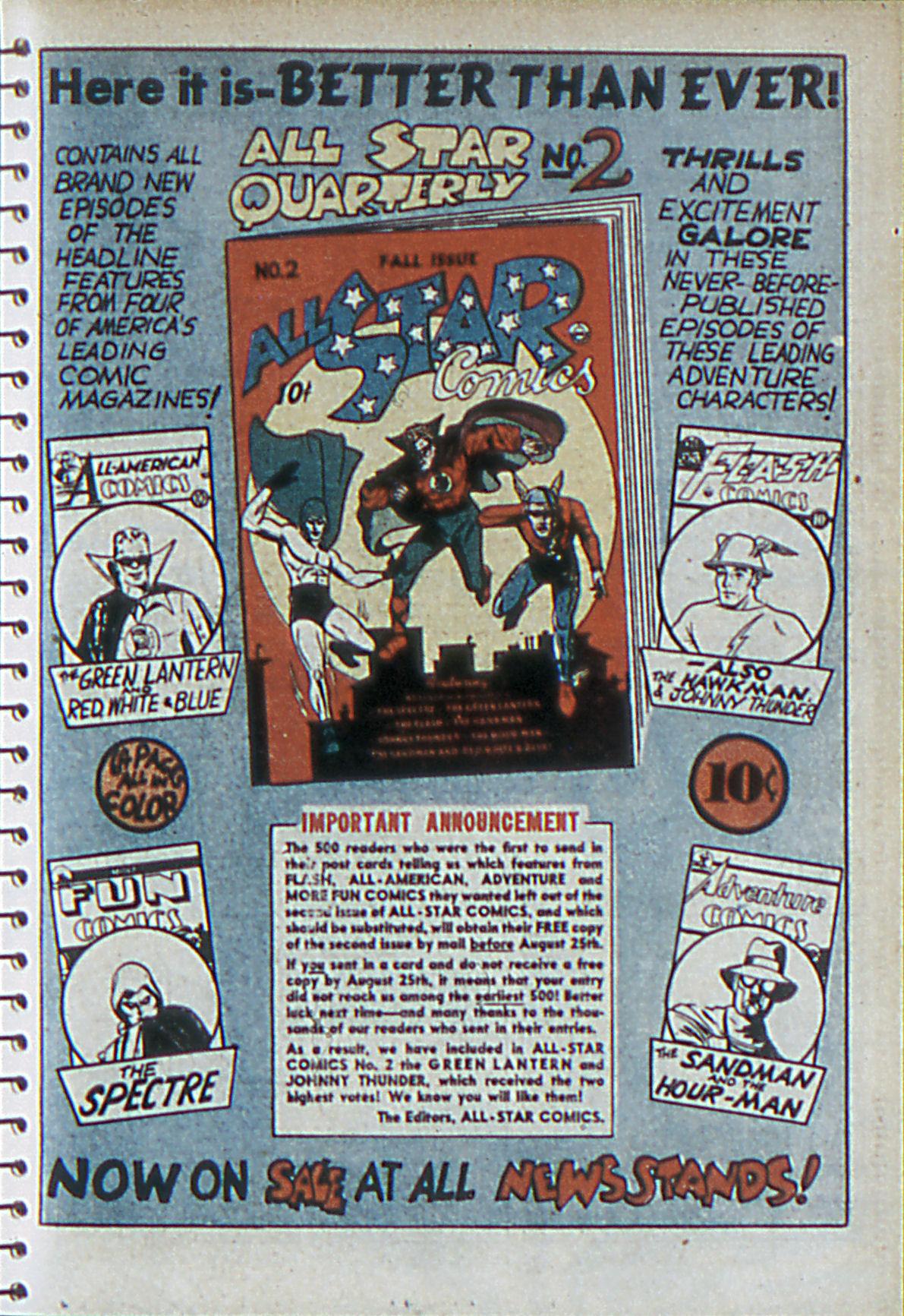 Read online Adventure Comics (1938) comic -  Issue #55 - 12