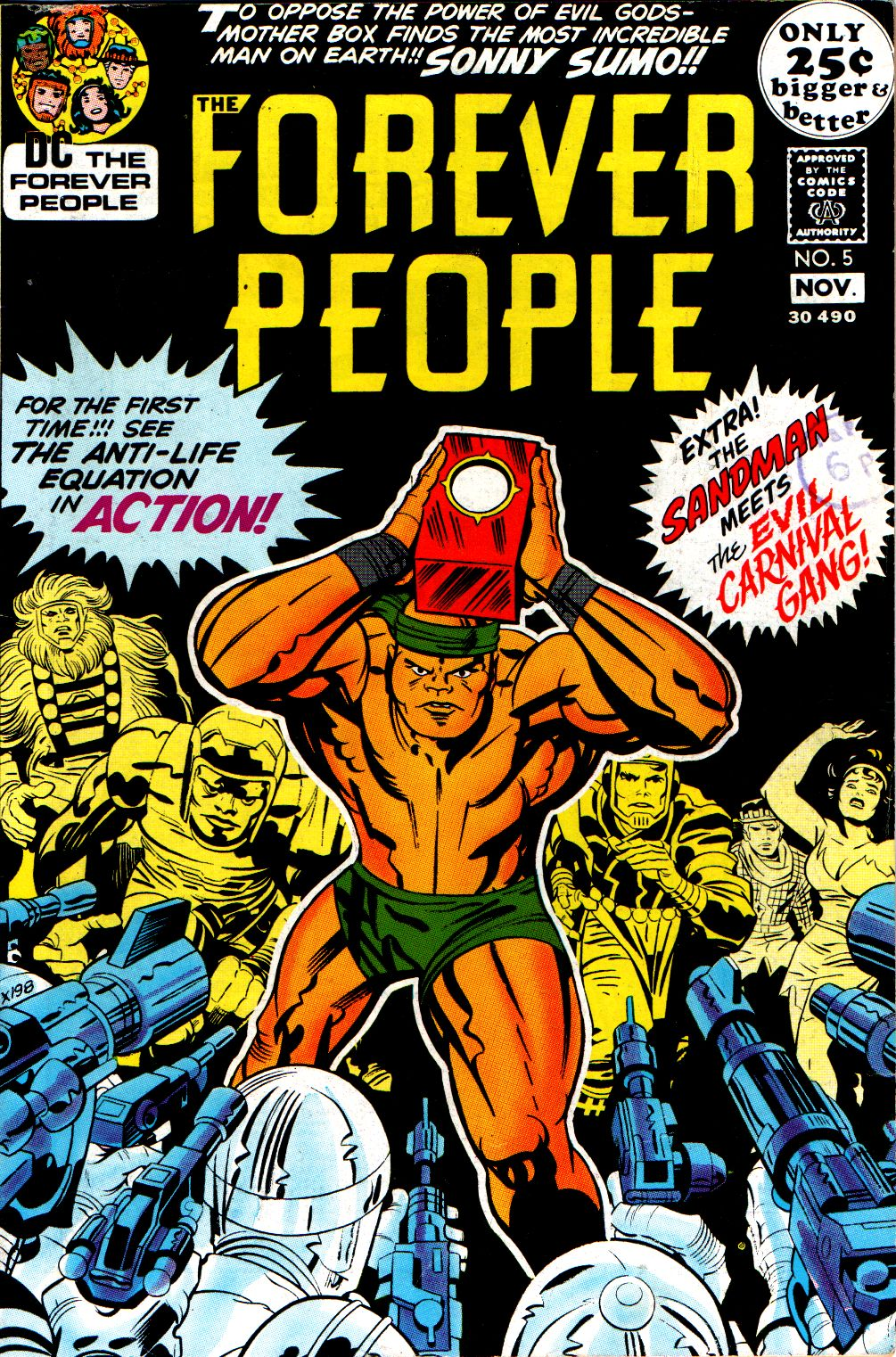 Forever People (1971) issue 5 - Page 1