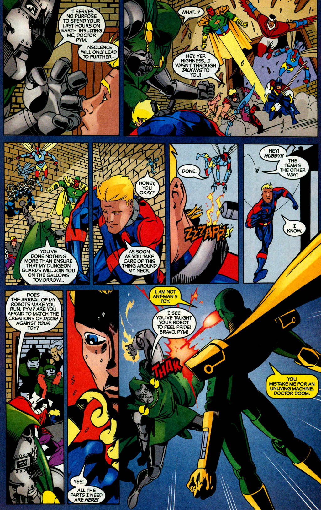 Read online Avengers United They Stand comic -  Issue #4 - 18