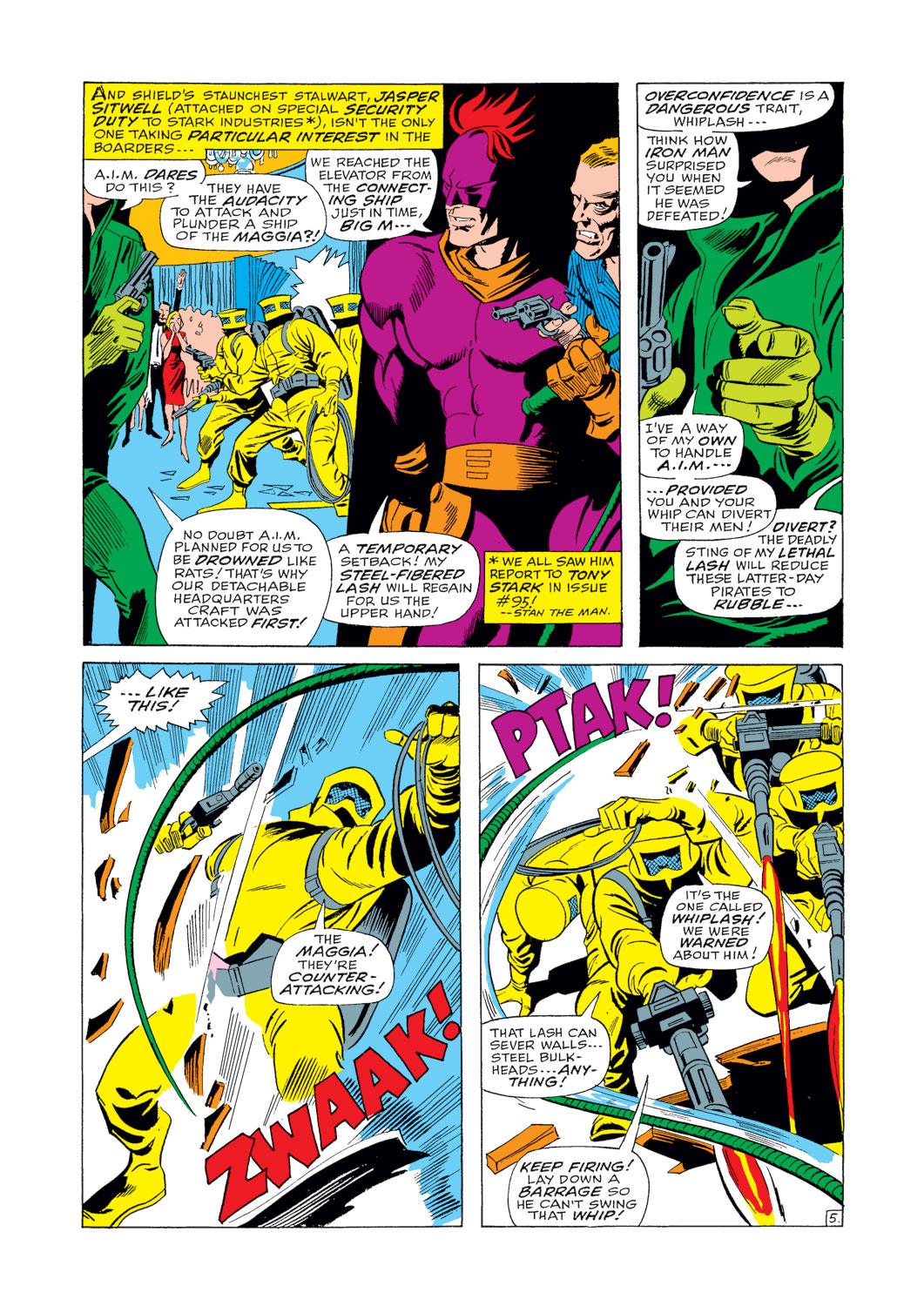 Iron Man and Sub-Mariner issue Full - Page 6