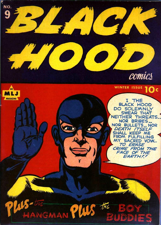 Black Hood Comics 9 Page 1