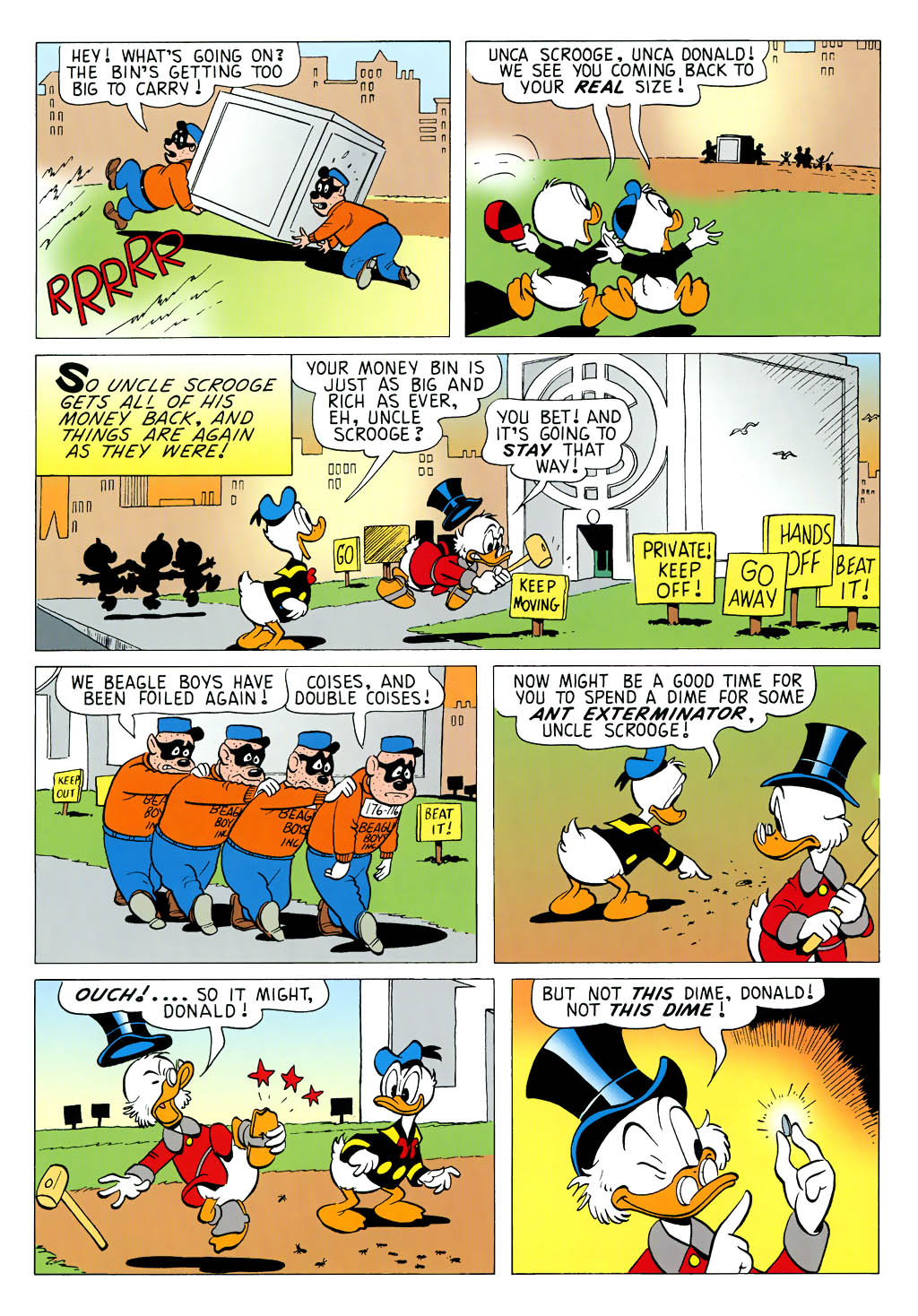 Read online Uncle Scrooge (1953) comic -  Issue #323 - 36