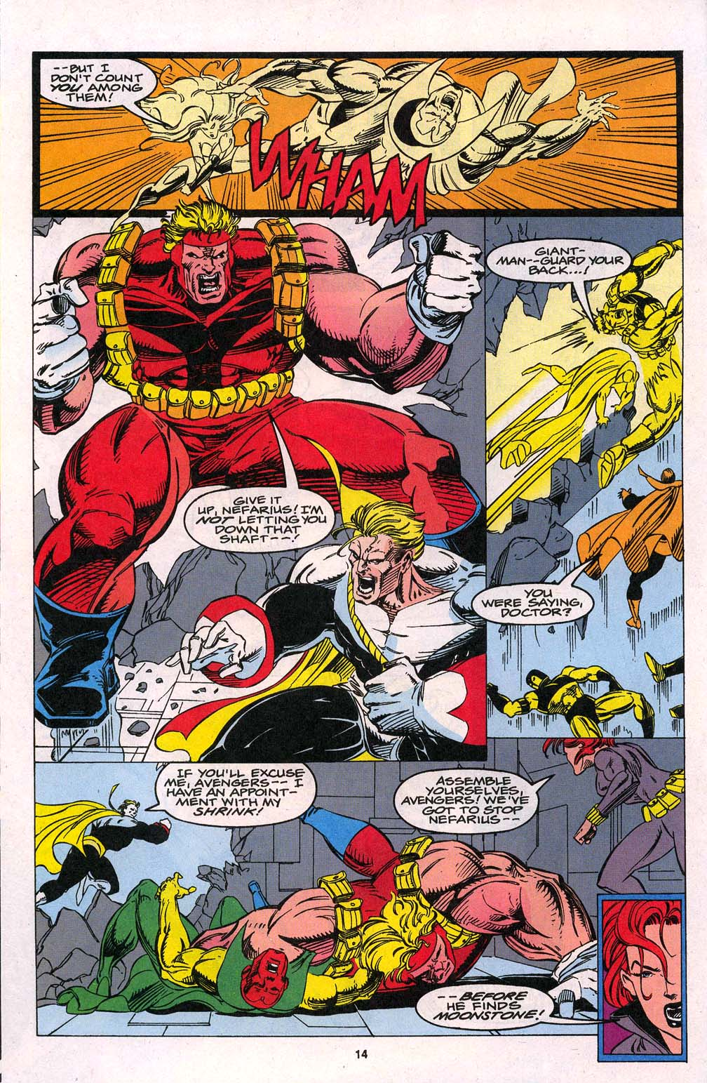 Avengers Unplugged issue 1 - Page 11