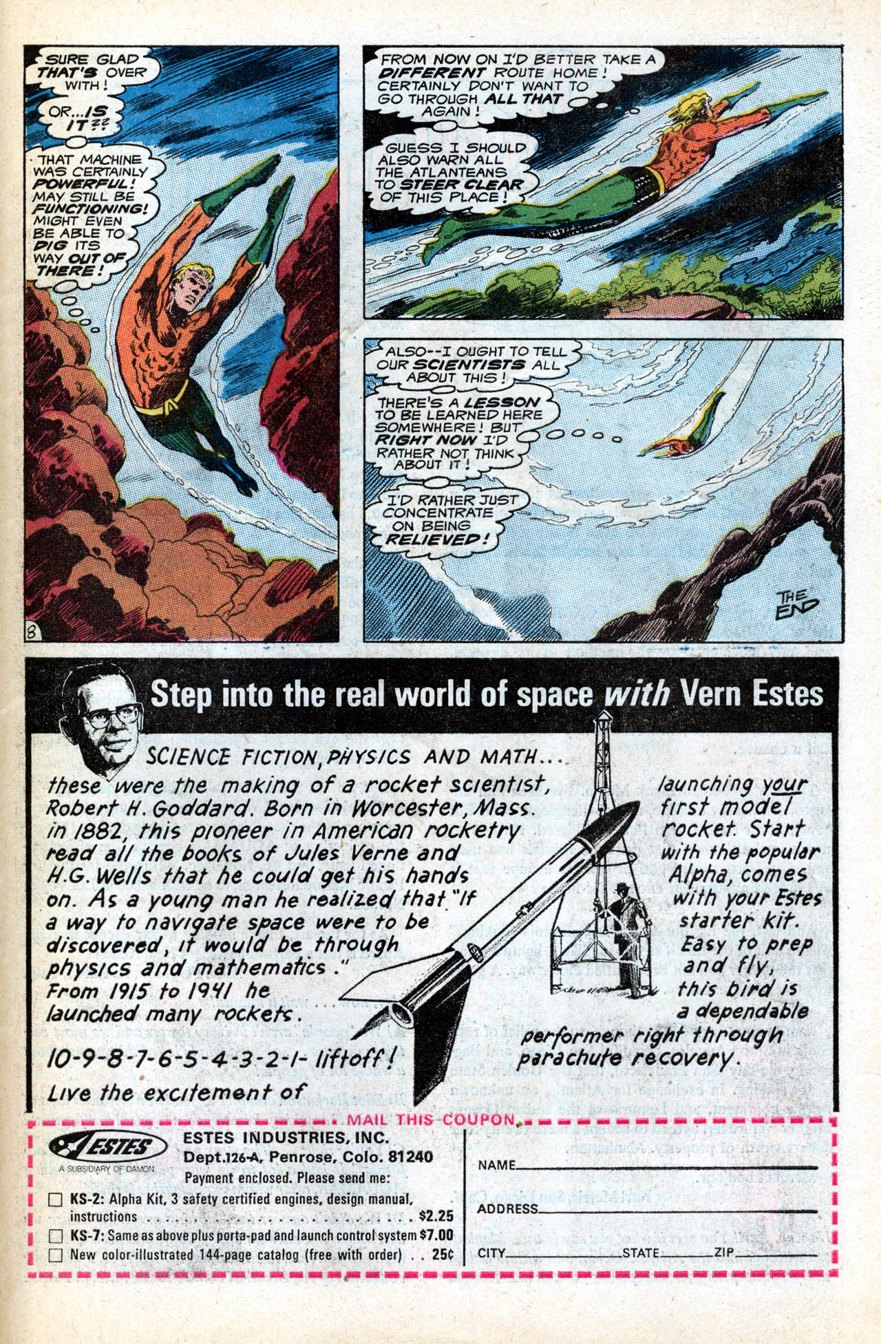 Read online Aquaman (1962) comic -  Issue #55 - 31