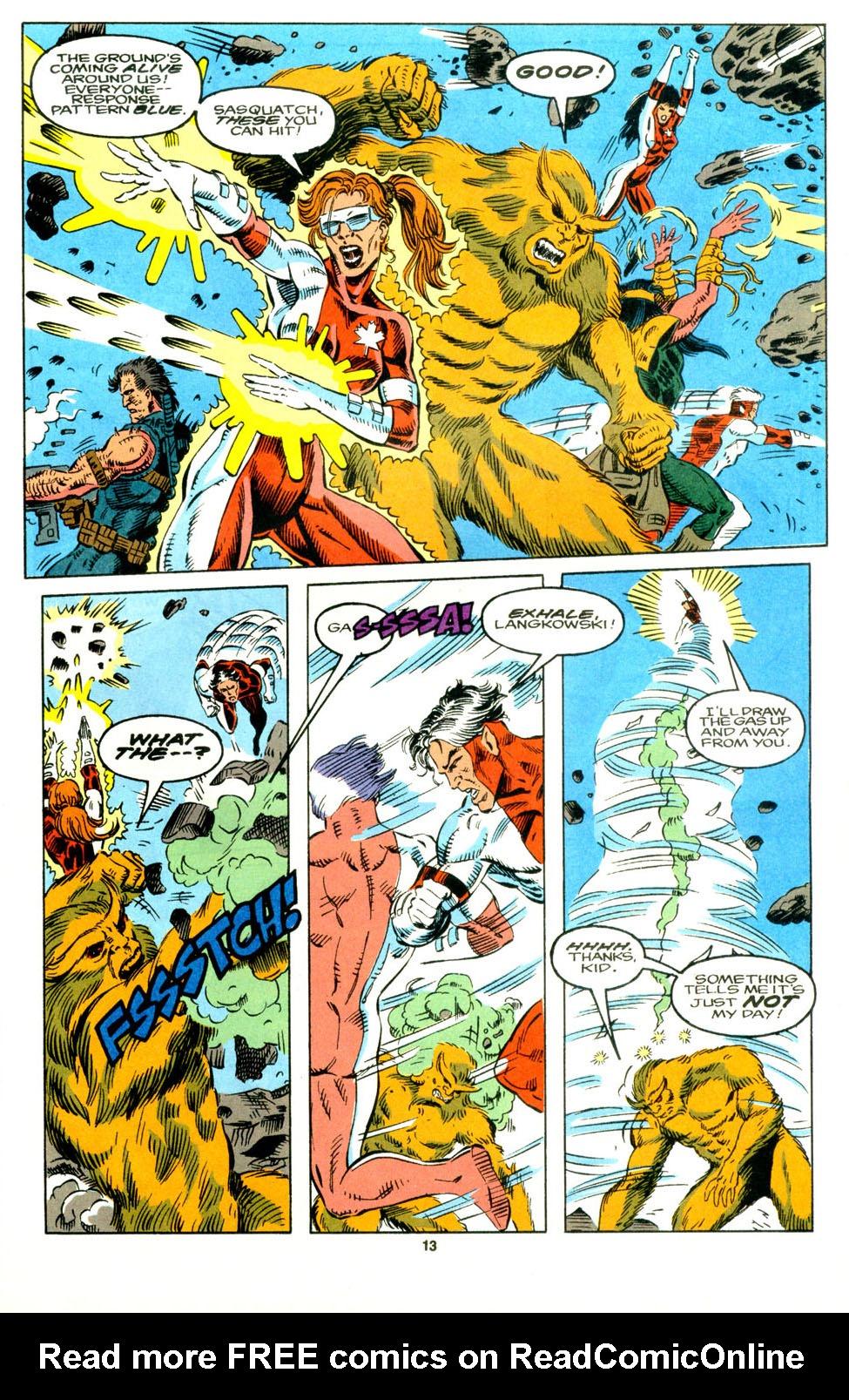 Read online Alpha Flight (1983) comic -  Issue #129 - 10