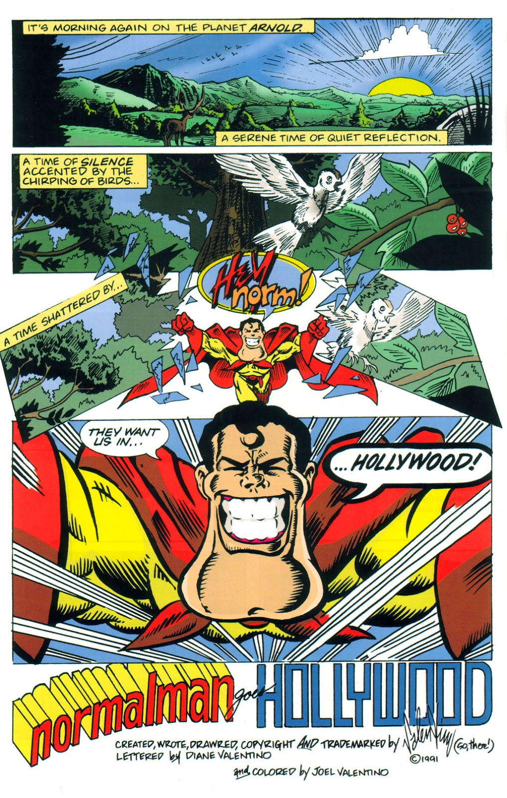 Read online Normalman 20th Anniversary Special comic -  Issue # Full - 26