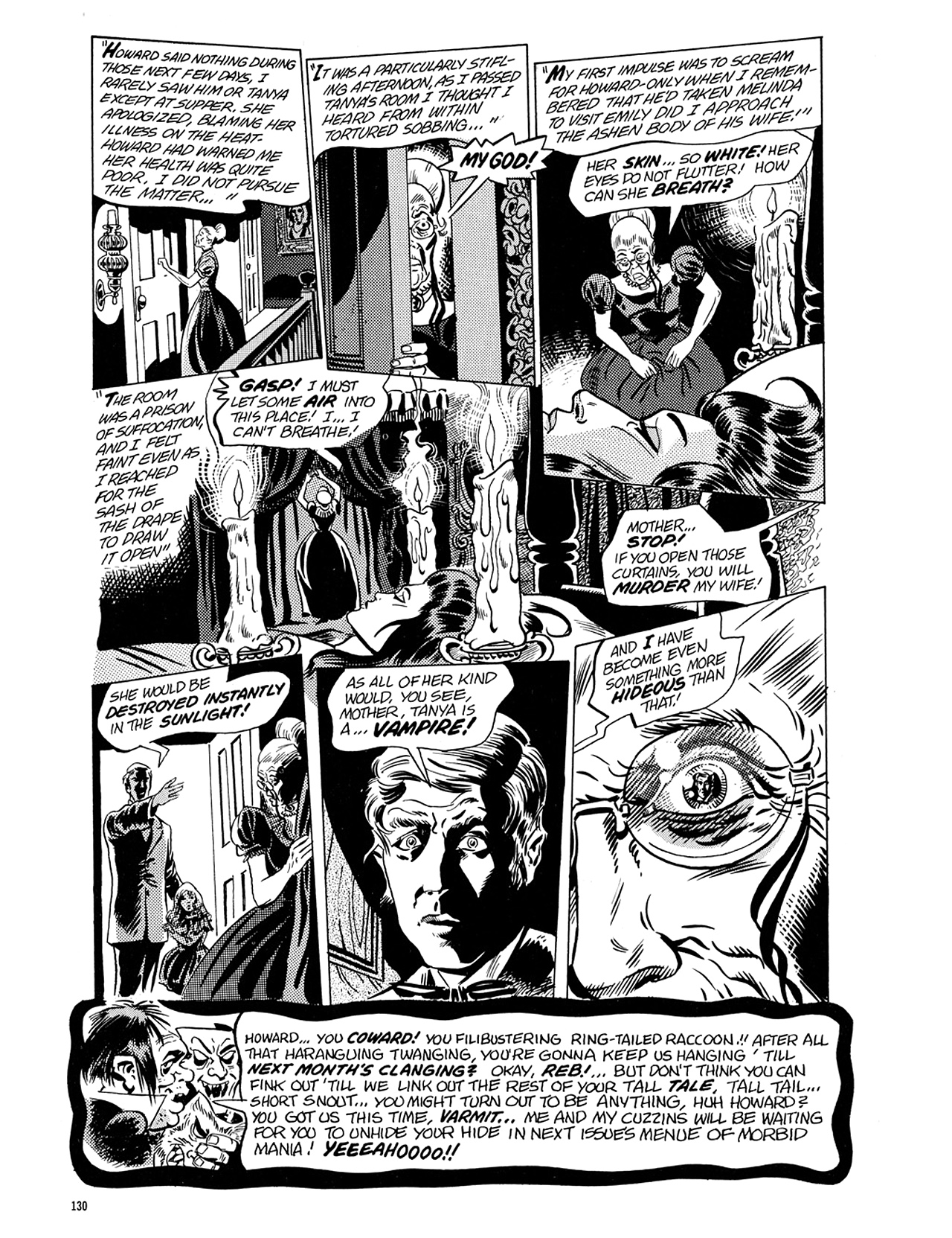 Read online Eerie Archives comic -  Issue # TPB 5 - 131
