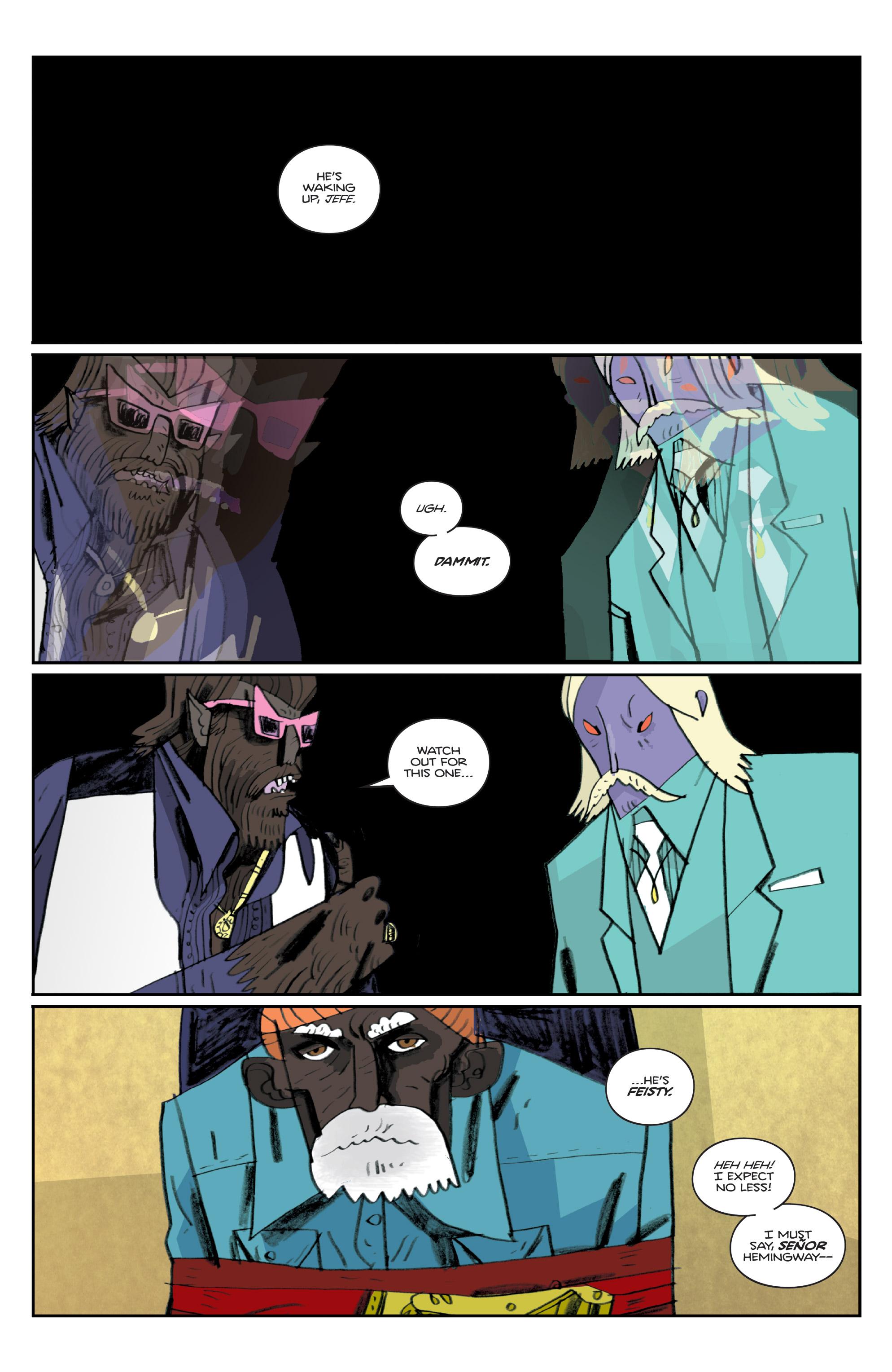 Read online Helena Crash comic -  Issue #3 - 22