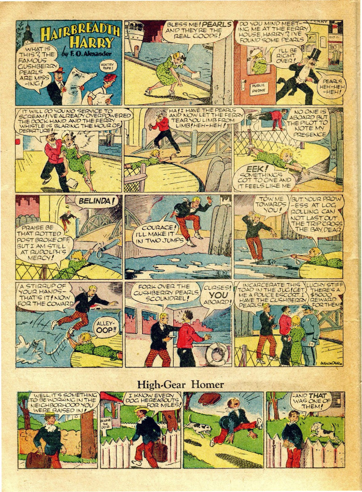 Read online Famous Funnies comic -  Issue #62 - 17