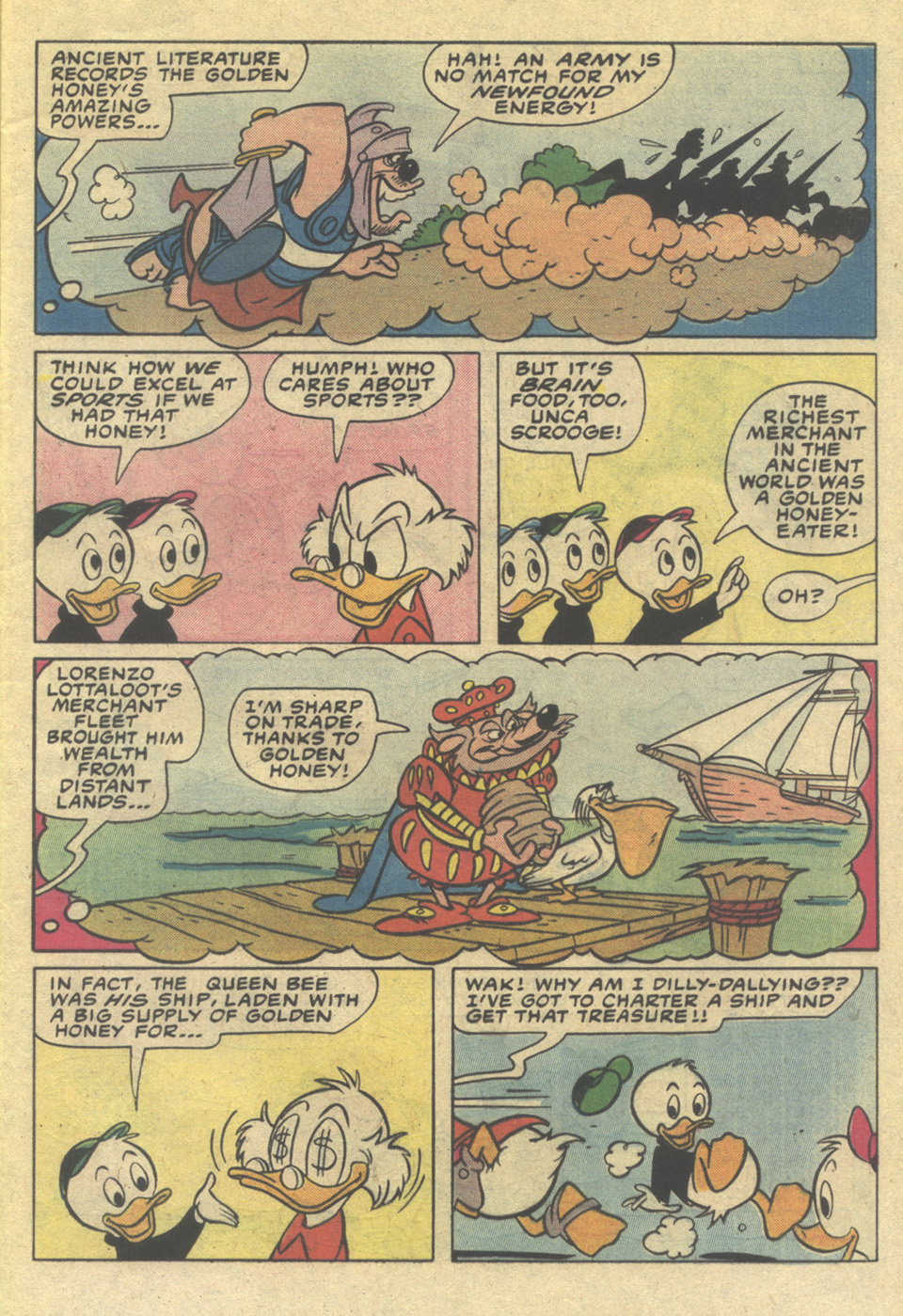Read online Uncle Scrooge (1953) comic -  Issue #206 - 5